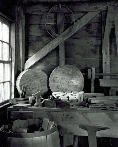 Bench and Window, Deefield Cooperage