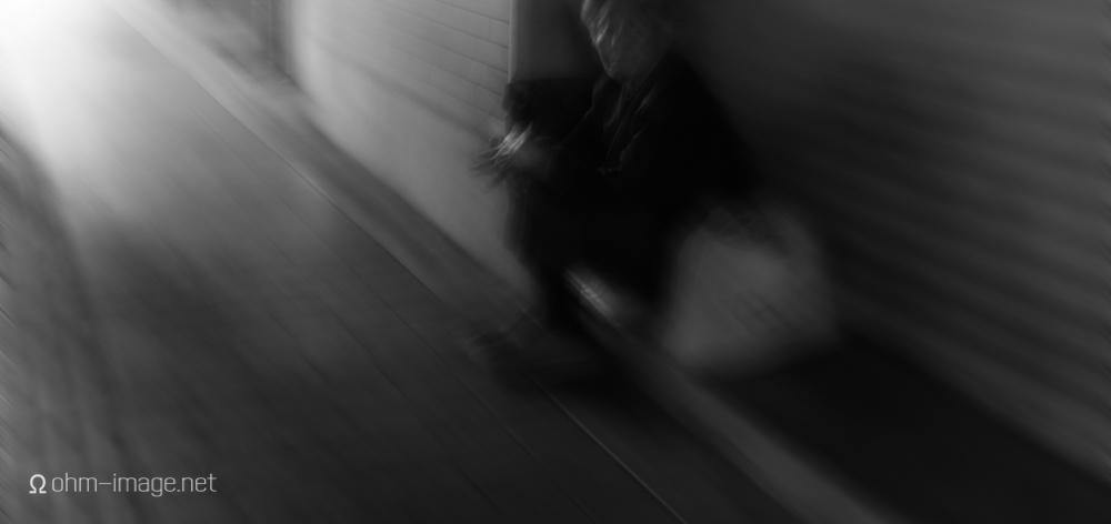 Passing a homeless gentleman in Akihabara