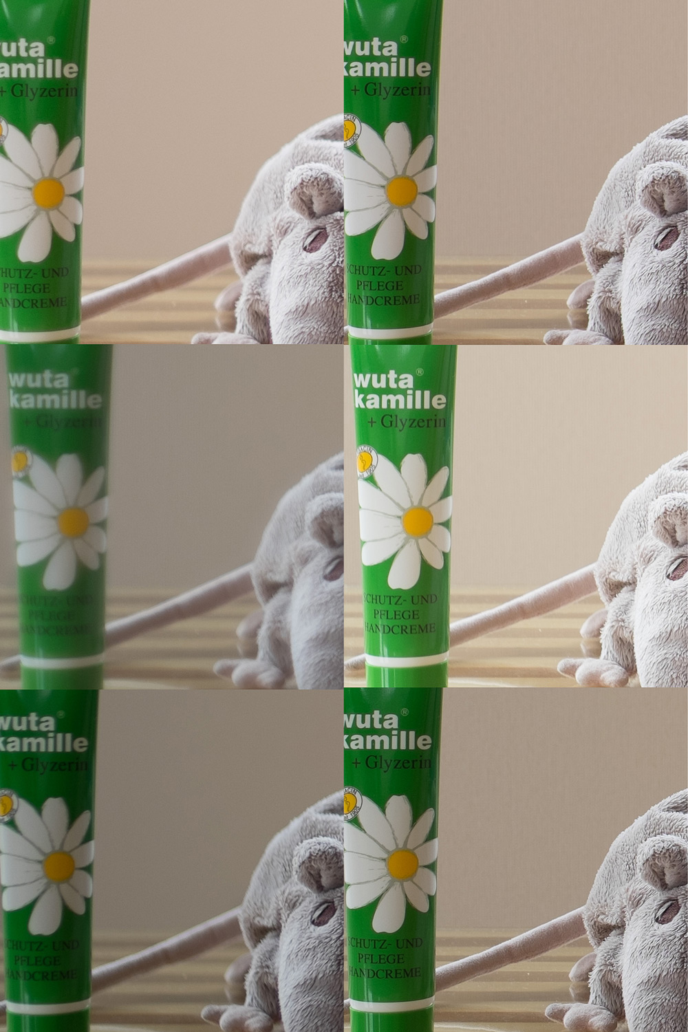 Image left:  from top to bottom andleft to right: Fujifilm 35 @f/1,4 -> f/8; Canon 35 @f/1,5  -> f/8; Leica 35 @f/1,4 -> f/8