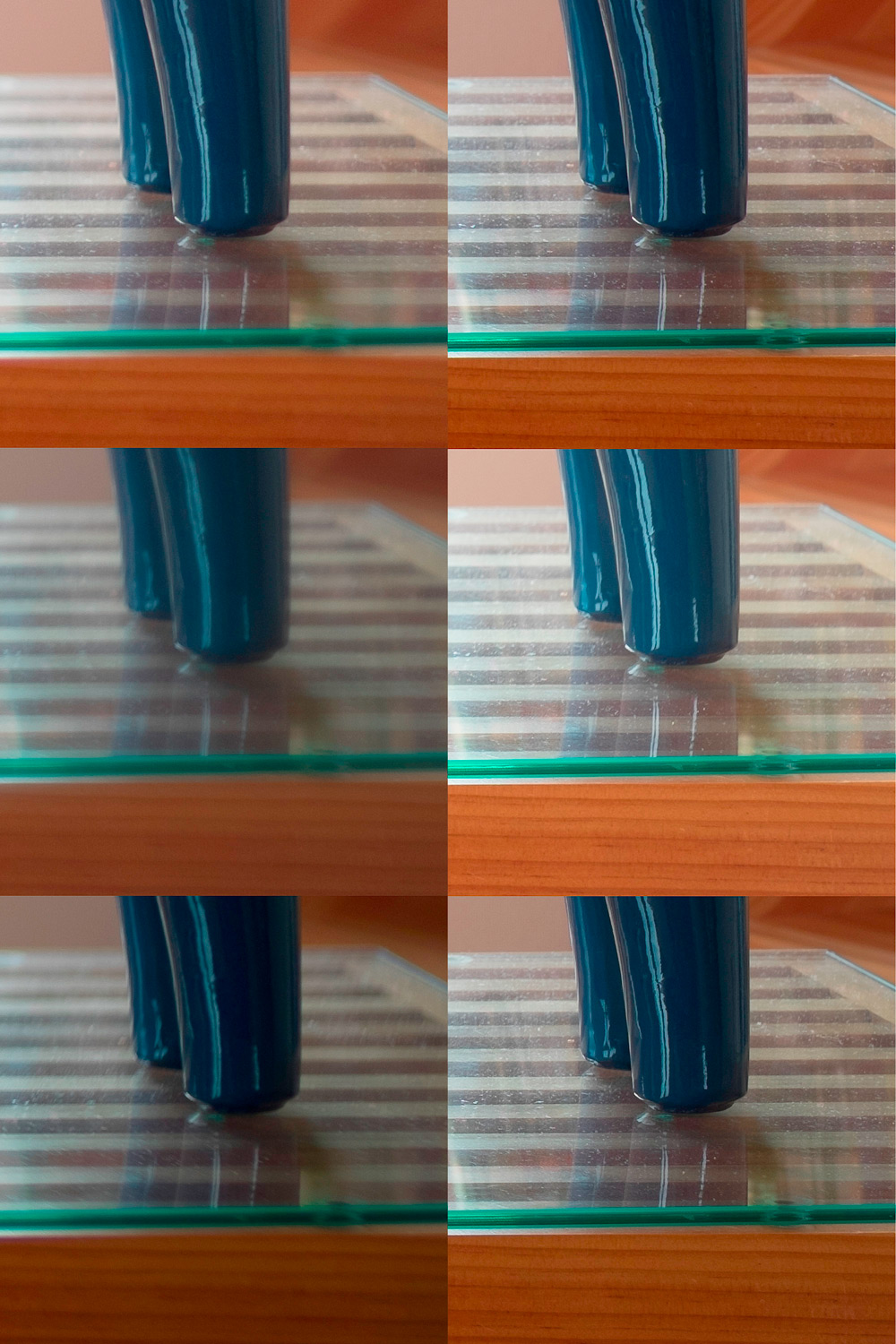 Image right: from top to bottom andleft to right: Fujifilm 35 @f/1,4 -> f/8; Canon 35 @f/1,5  -> f/8; Leica 35 @f/1,4 -> f/8