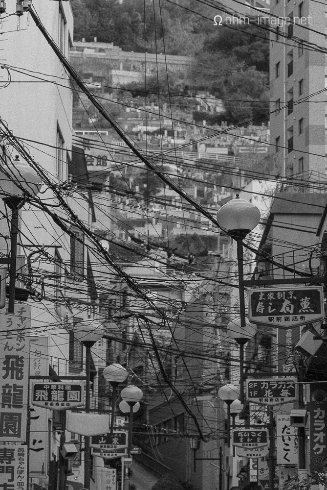 Spidering power cables, Kyushu