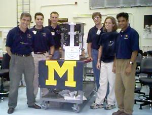 VORTEX Re-flight Team at KSC, 1998