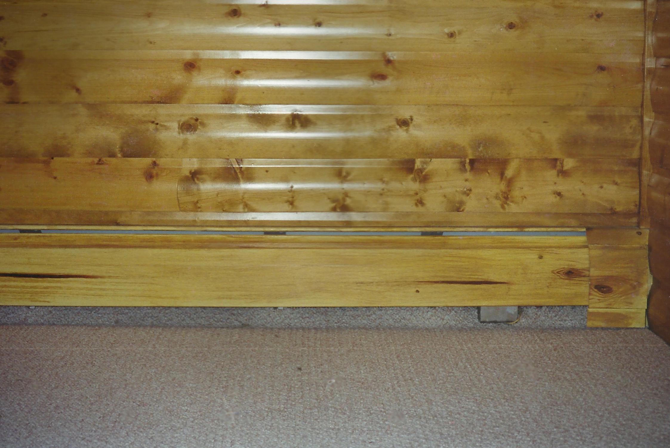 Wood-grain heater