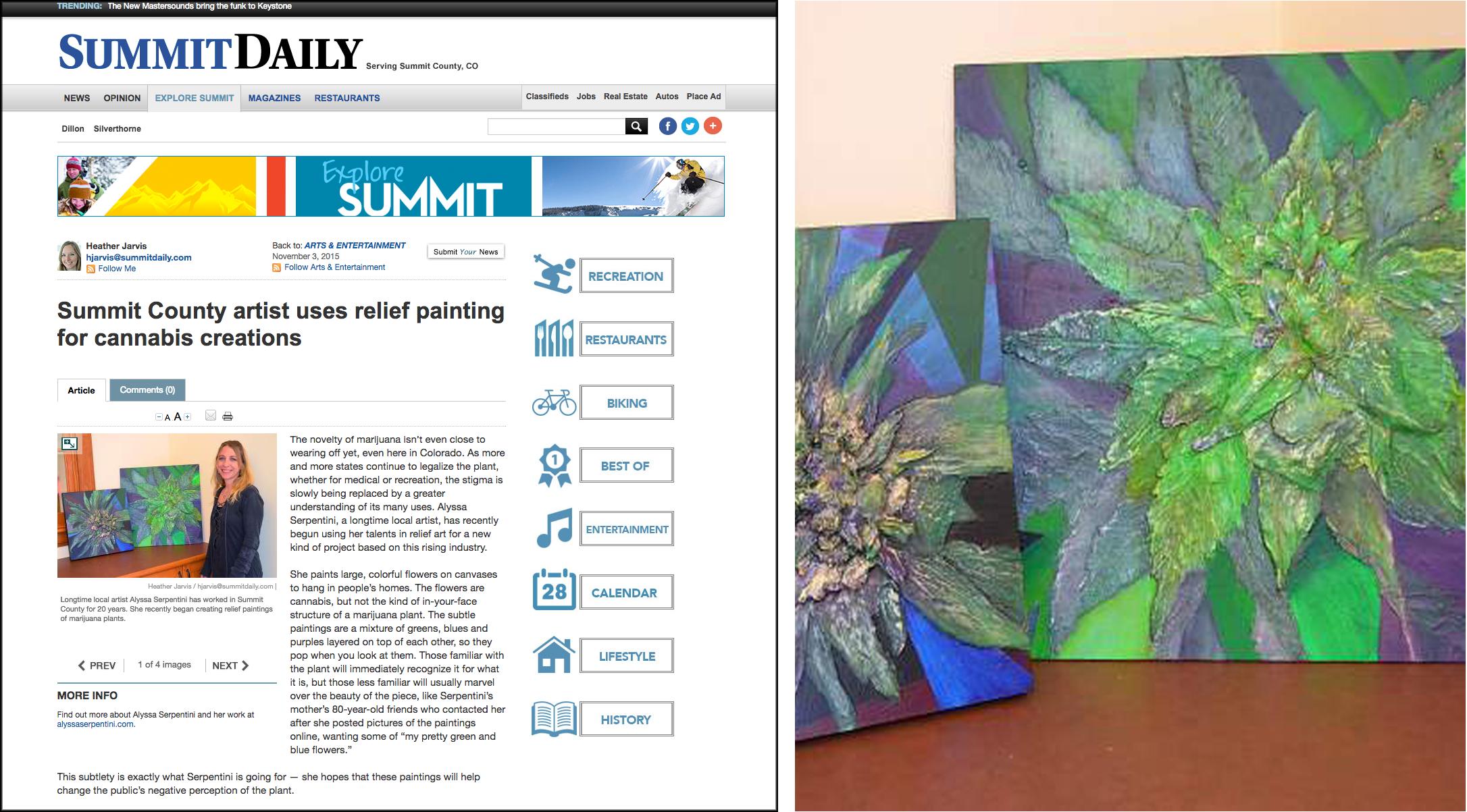 Summit Daily News - November 5th, 2015