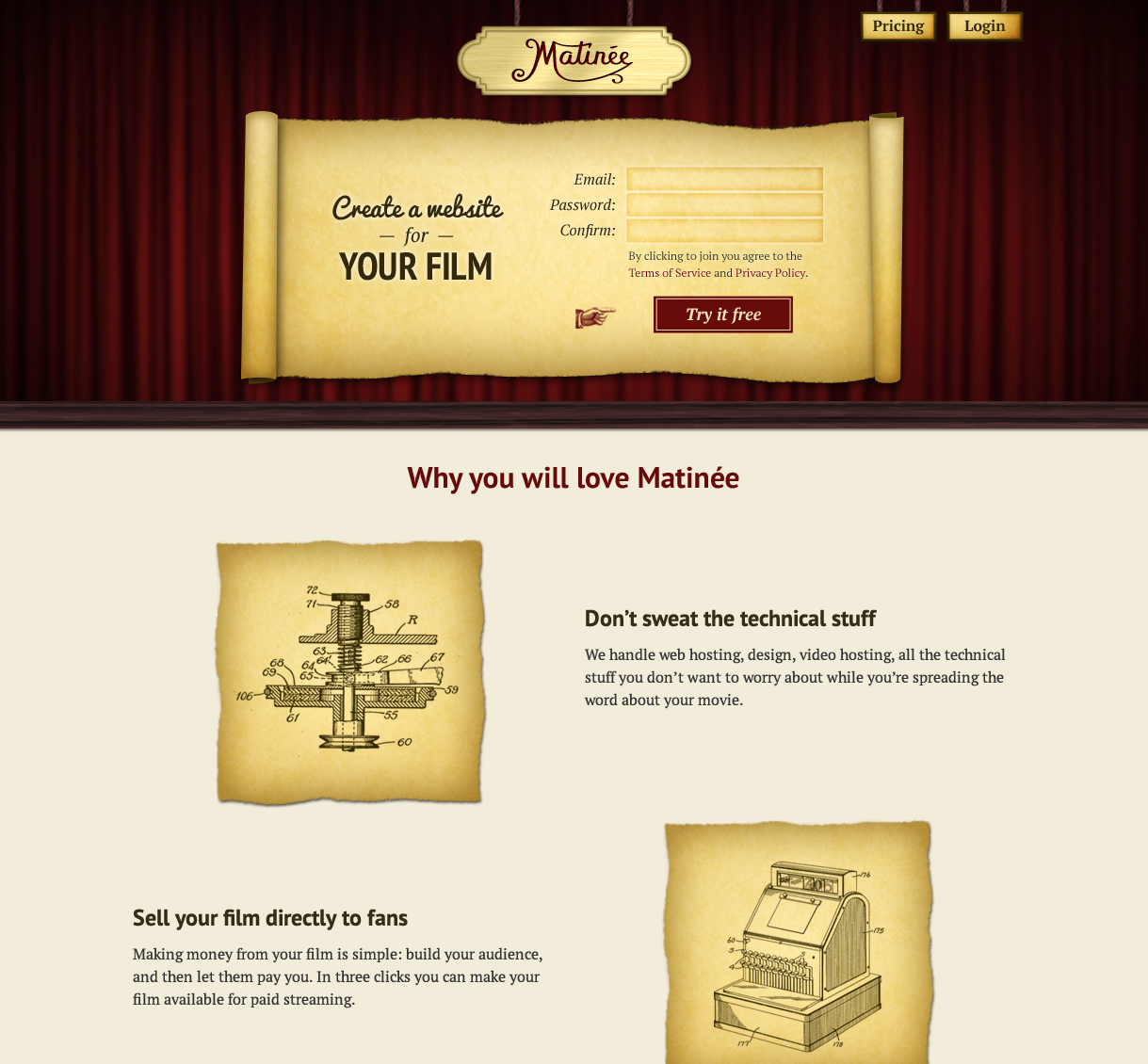 Matinee Home Page top.png