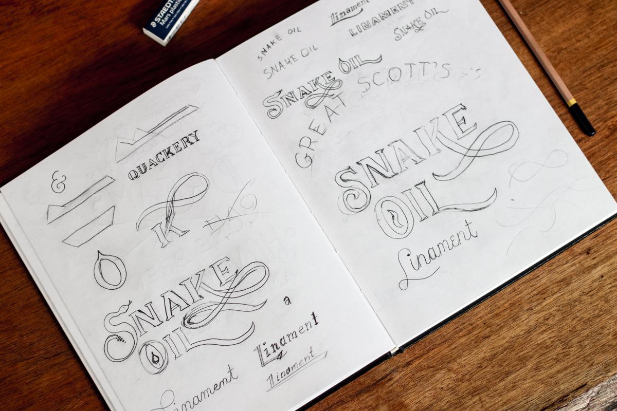 Snake Oil Sketches
