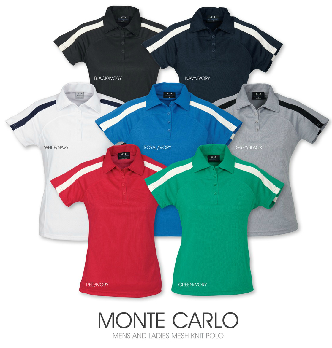 Monte Carlo men's and ladies mesh knit polo.jpg