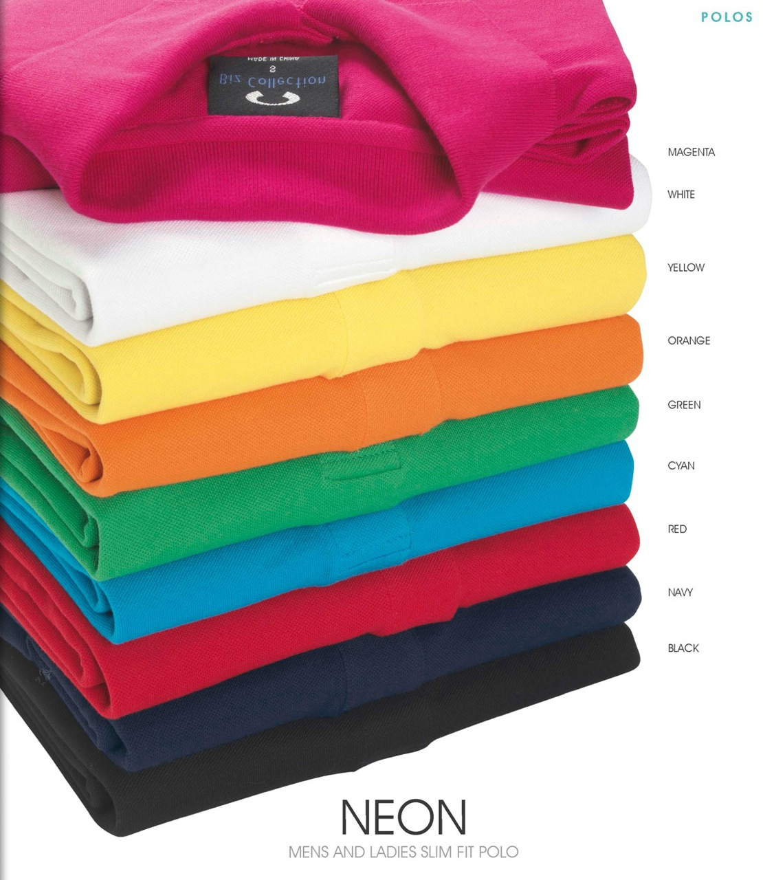 Neon men's and ladies slim fit polo.jpg