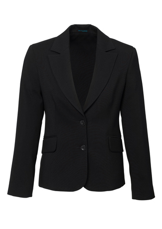 60111  SHORT-MID LENGTH JACKET  $154.90  92% POLYESTER 8% BAMBOO  black   SIZES : 4 6 8 10 12 14 16 18 20 22 24 26
