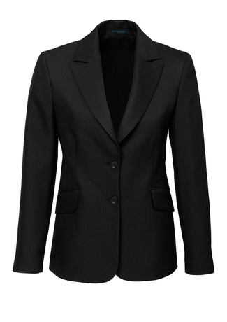 60112  LONGLINE JACKET  $154.90  92% POLYESTER 8% BAMBOO  Black   SIZES : 4 6 8 10 12 14 16 18 20 22 24 26