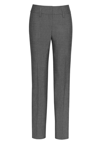 10320  COUNTOUR BAND PANT  $68.99  63% POLYESTER 33% VISCOSE 4% ELASTaNE  grey   SIZES : 4 6 8 10 12 14 16 18 20 22 24 26