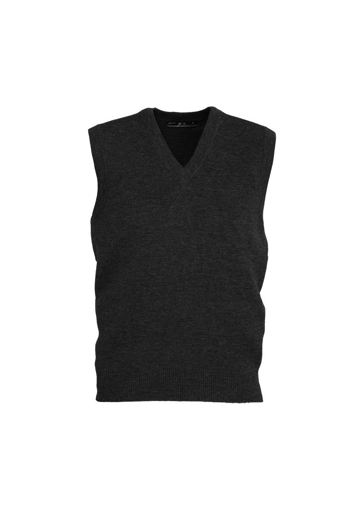 wv6007  Men's Woolmix Vest  $50.70  50% Wool 50% acrylic  Black Sizes:  XS s m l xl 2xl 3xl 5xl