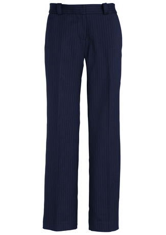 10212     LADIES hipster FIT PANTS   92% POLYESTER 8% BAMBOO I  NAVY pinstripe    SIZES  : 4  6  8  10  12  14  16  18  20  22  24  26