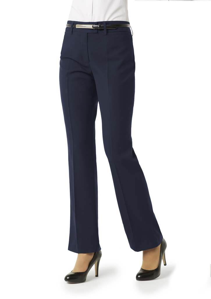 BS29320    LADIES EASY CARE PANTS  65% POLYESTER 35% VISCOSE i  NAVY    SIZES  :6  8  10  12  14  16  18  20  22  24  26
