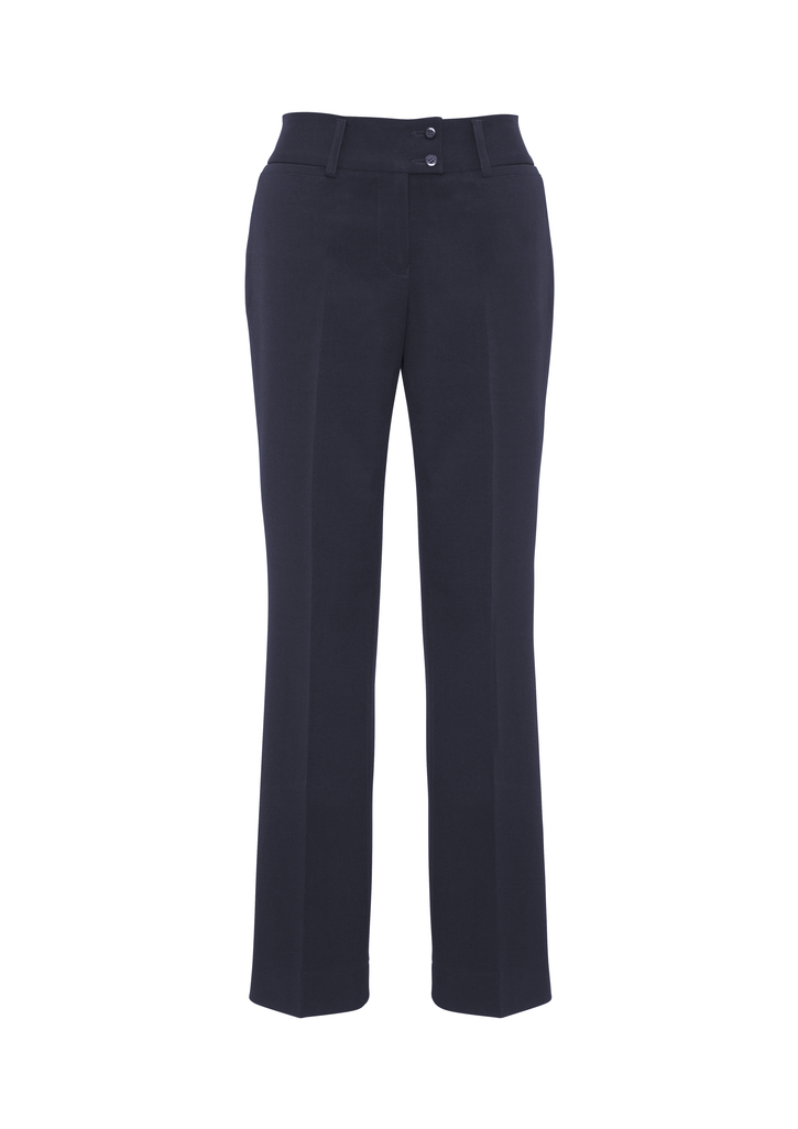 BS508L     LADIES eve PERFECT FIT PANTS   62% POLYESTER 34%VISCOSE 4 % ELASTANE I   NAVY   SIZES  :  10   12   14   16   18   20   22  24  26