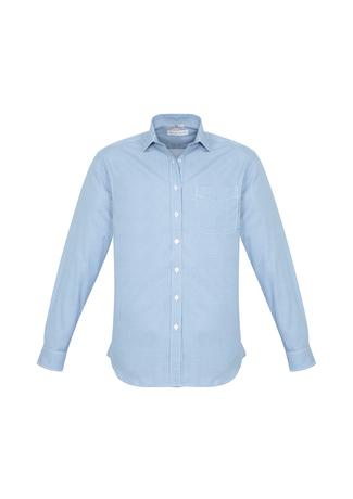 S716ML  ElLIson check  $42.45  55% cotton 45polyester  Blue/White sizes:  s m l xl 2xl 3xl 4xl 5xl