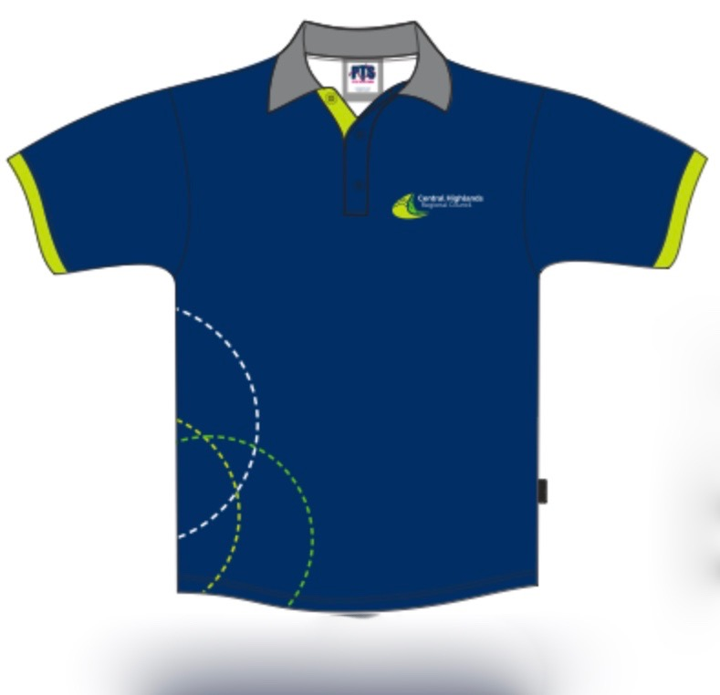 Sublimated  Friday Polo 100% Polyester  Junior Navy sIZES : 6 8 10 12 14 16 18 20 22 24 26 28