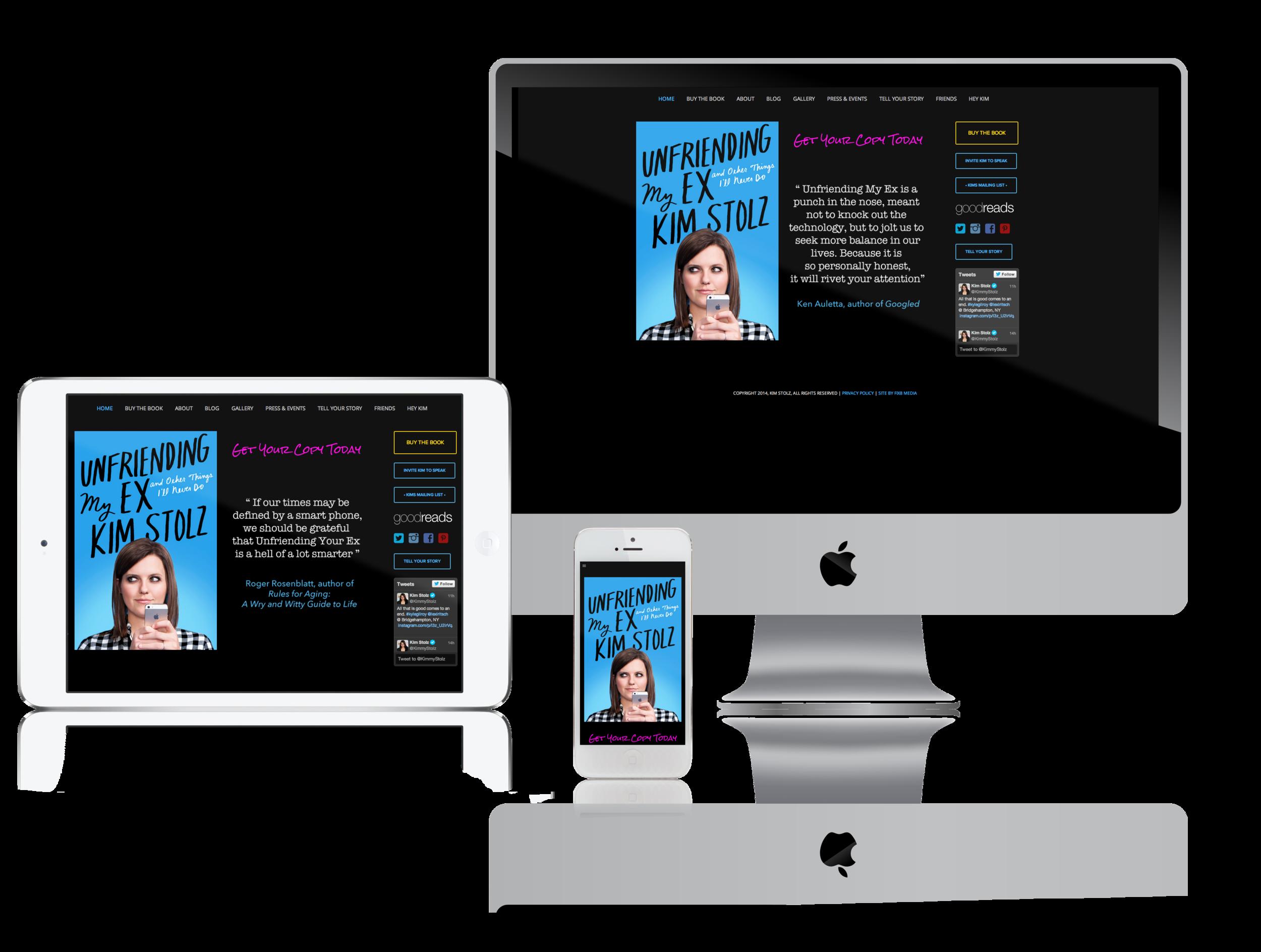 squarespace-author-website