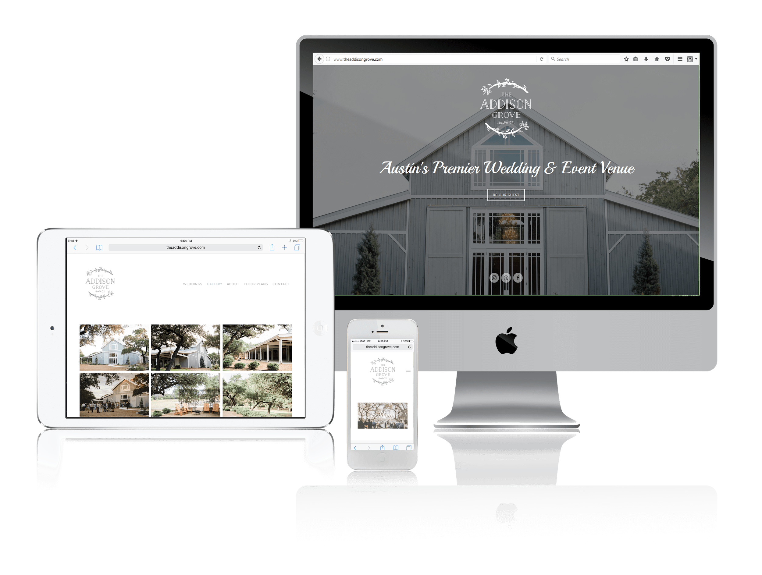 Squarespace for Austin Weddings