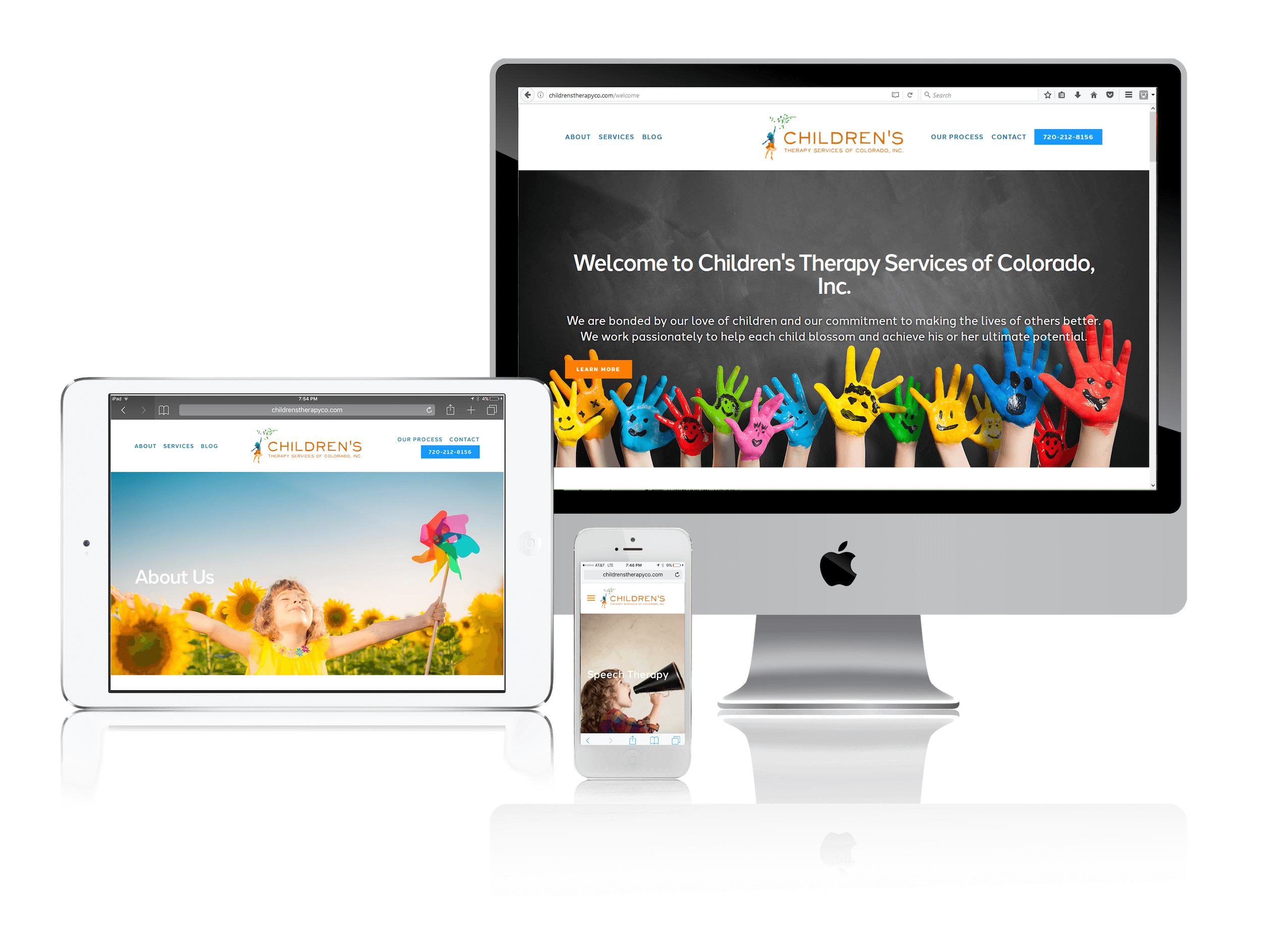 Squarespace for Children's Therapy Services