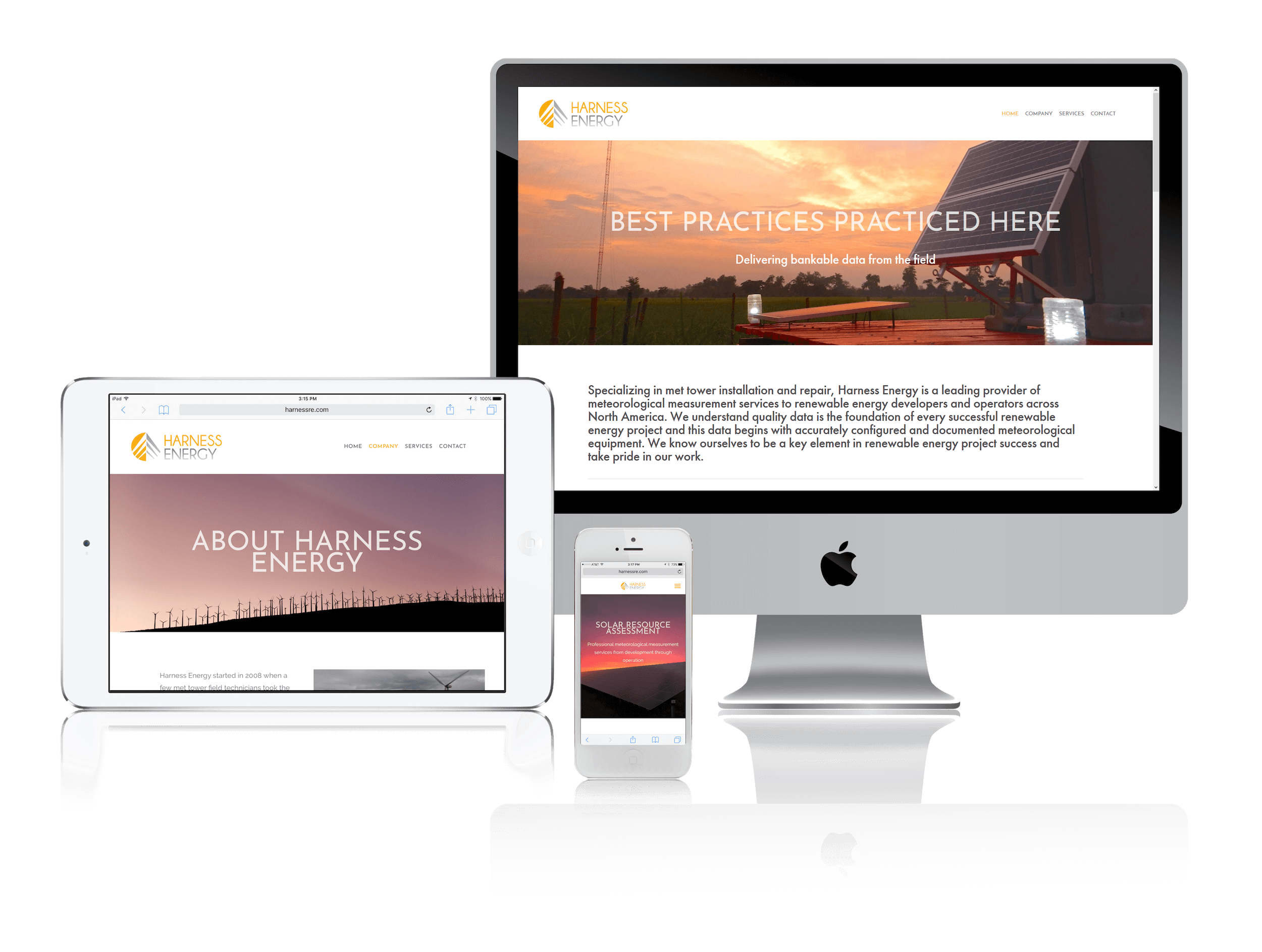 Squarespace for Renewable Energy