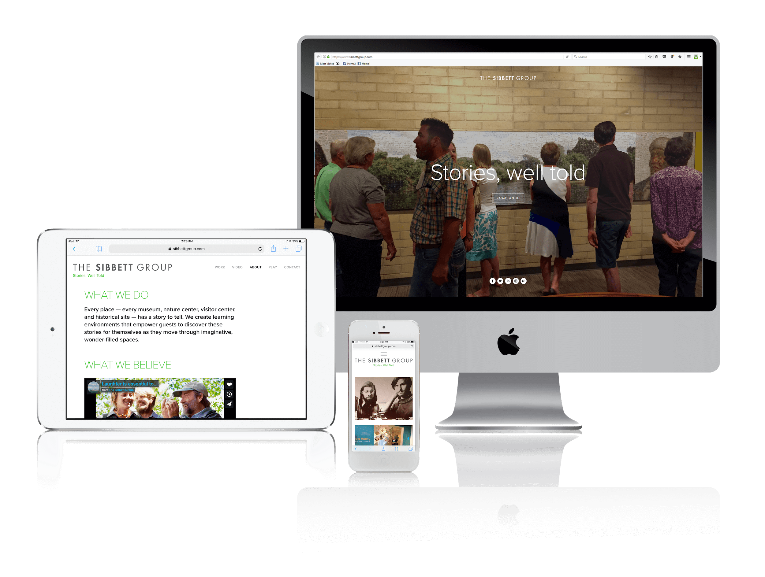 Squarespace for Storytelling