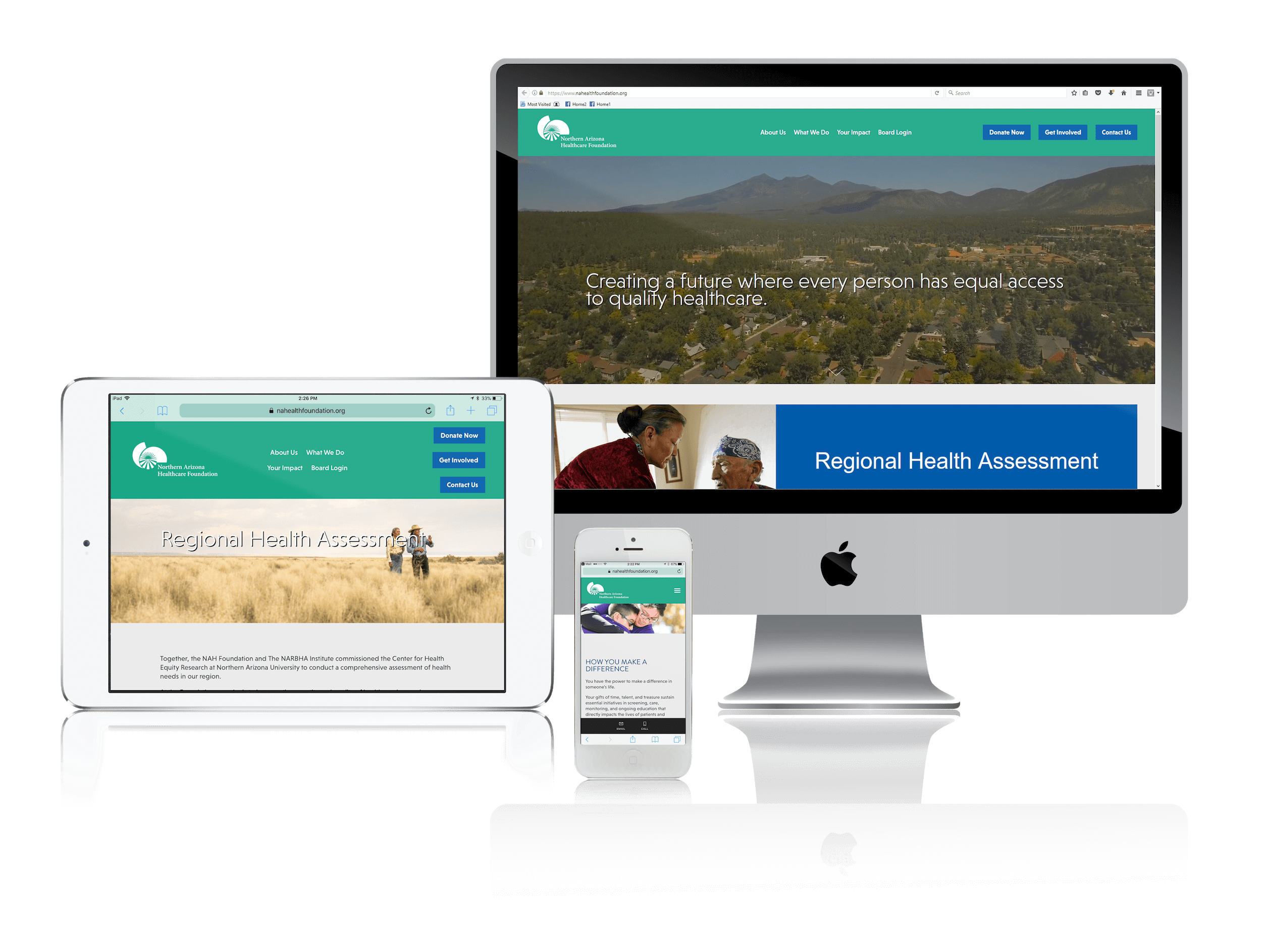 Squarespace for Healthcare Nonprofit