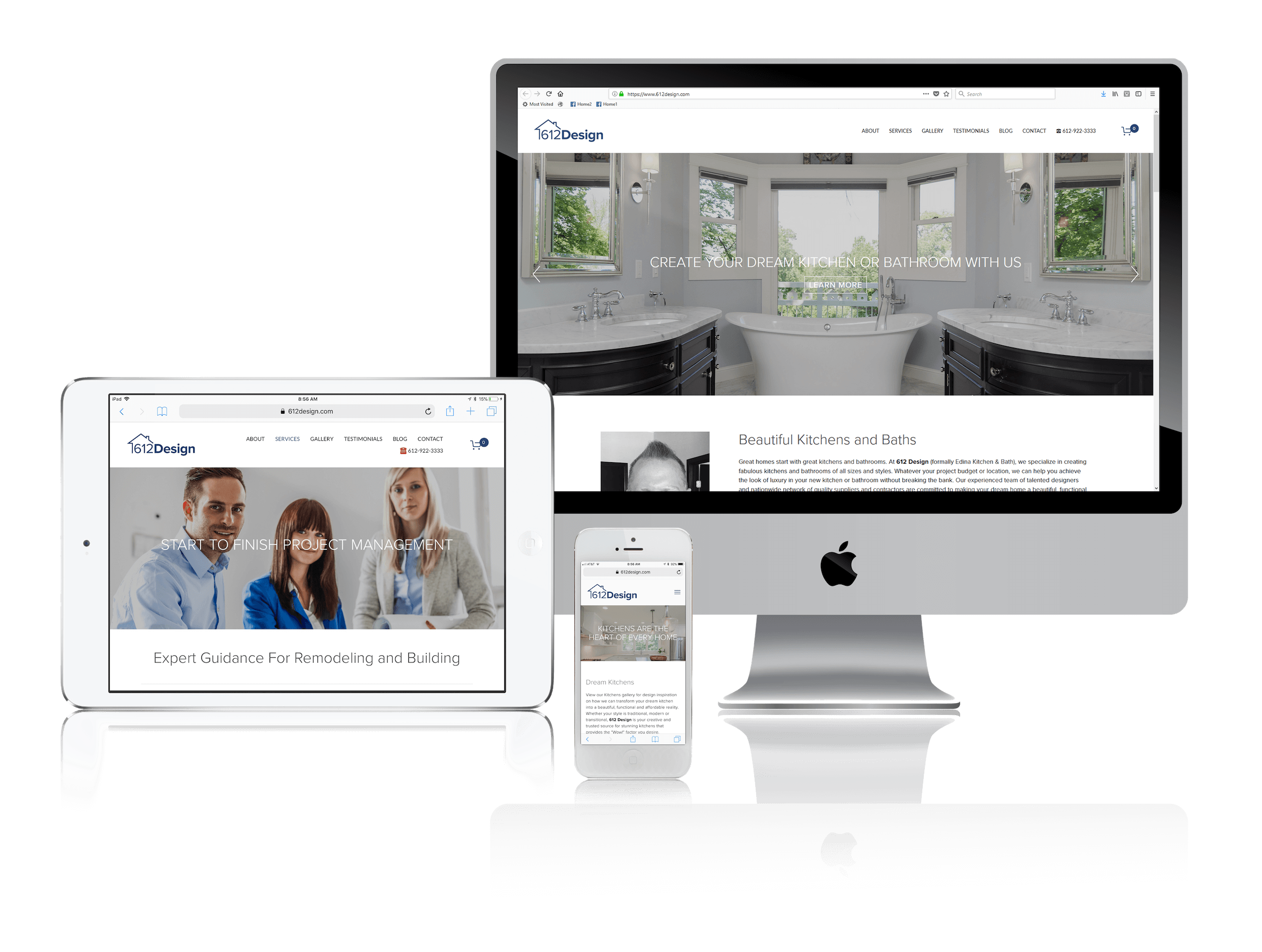 Squarespace for Kitchen and Bath Remodeling