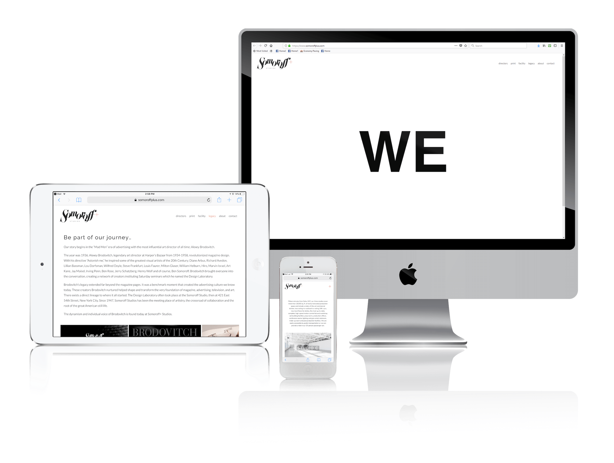 Squarespace for Creative Solutions