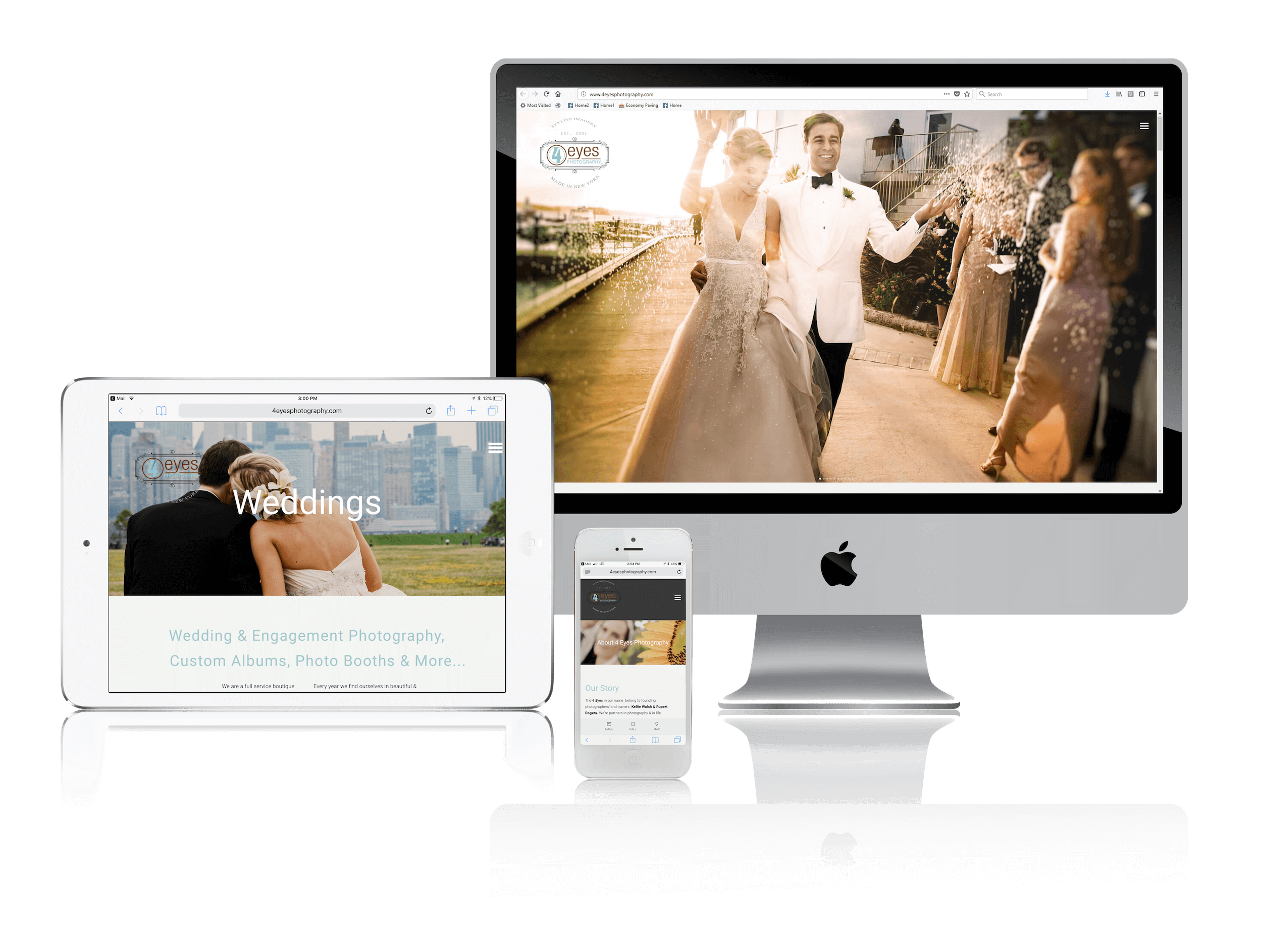 Squarespace for Boutique Wedding Photographers