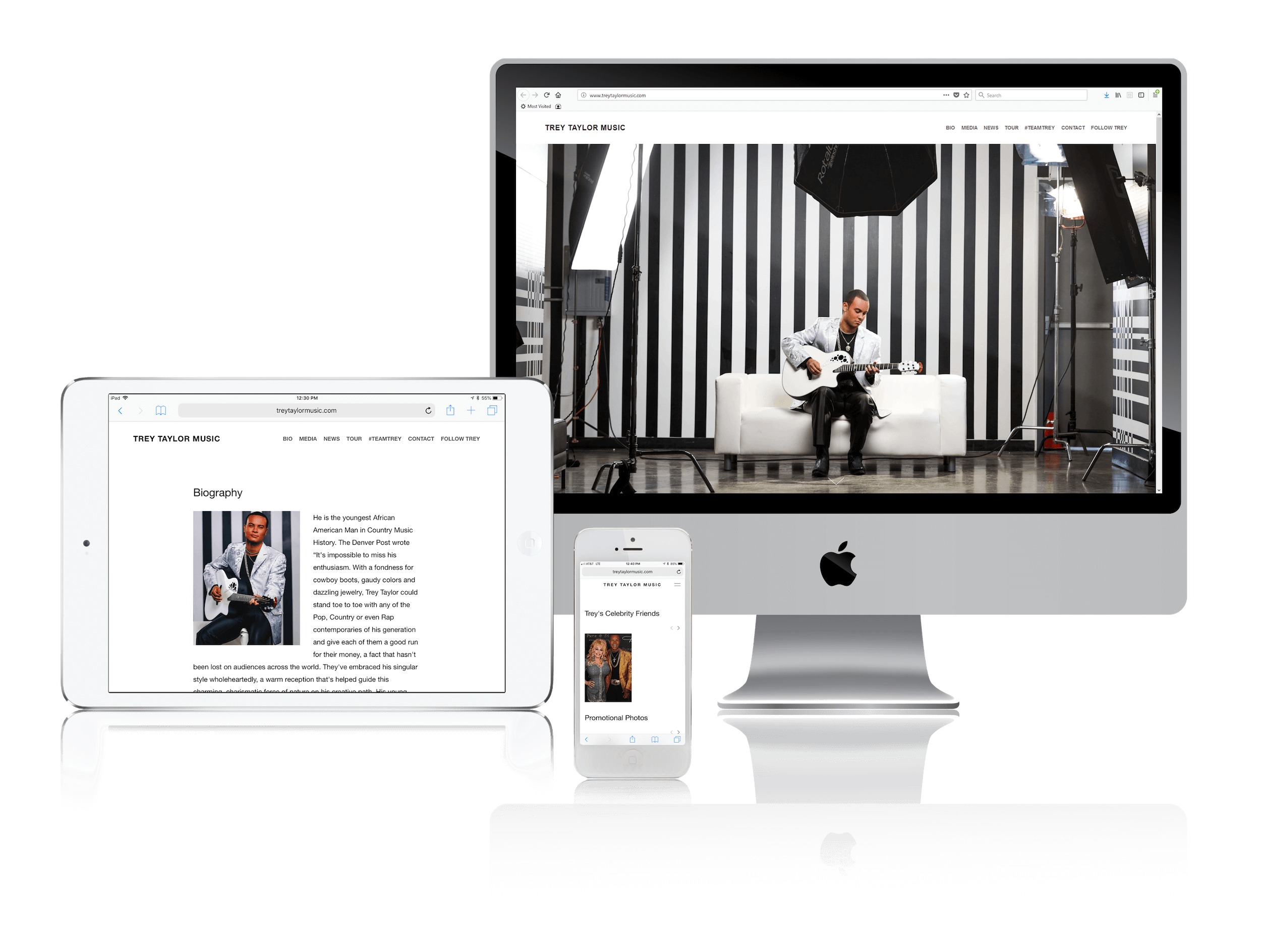 Squarespace for Country Music