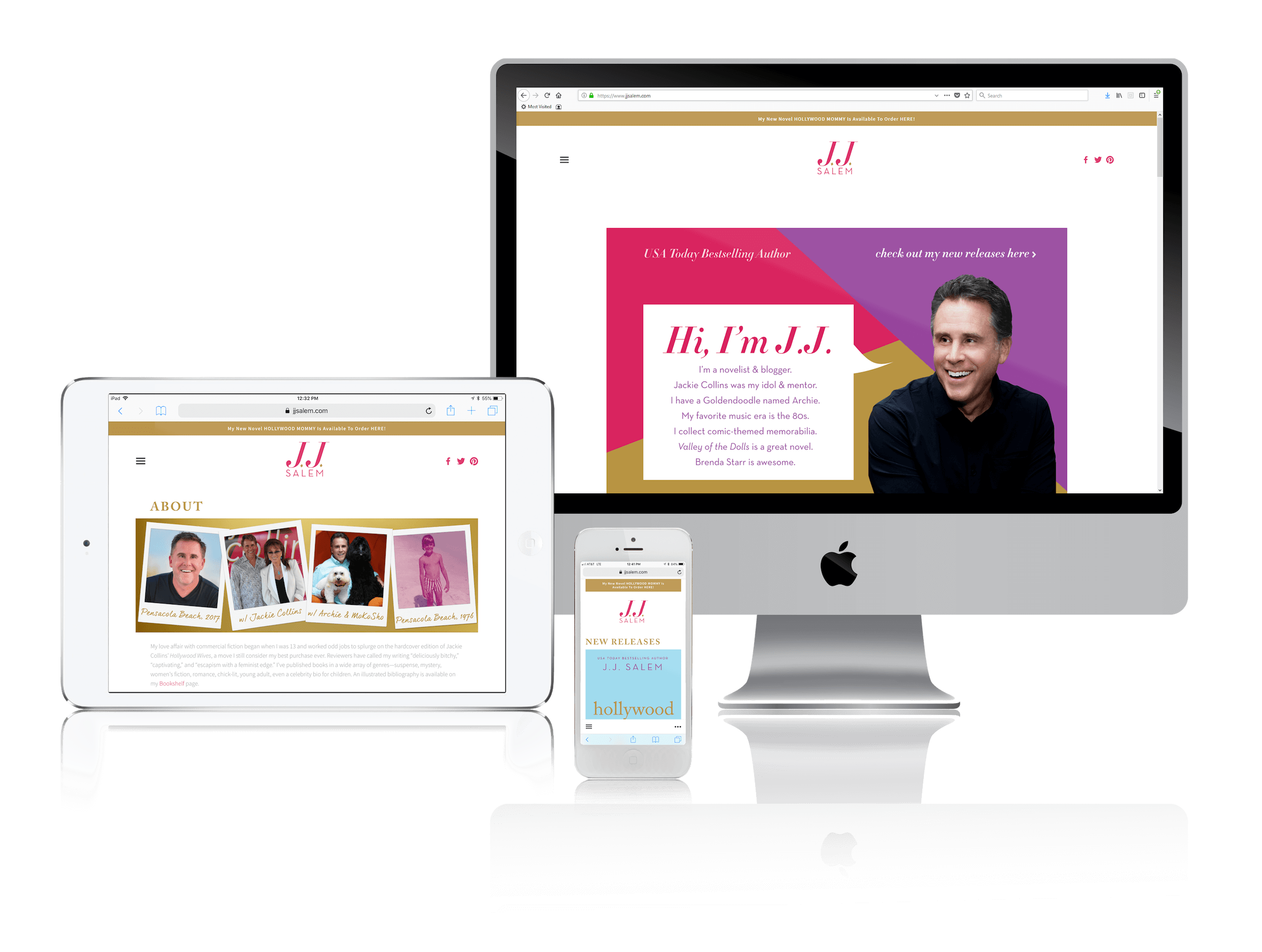 Squarespace for Chick Lit