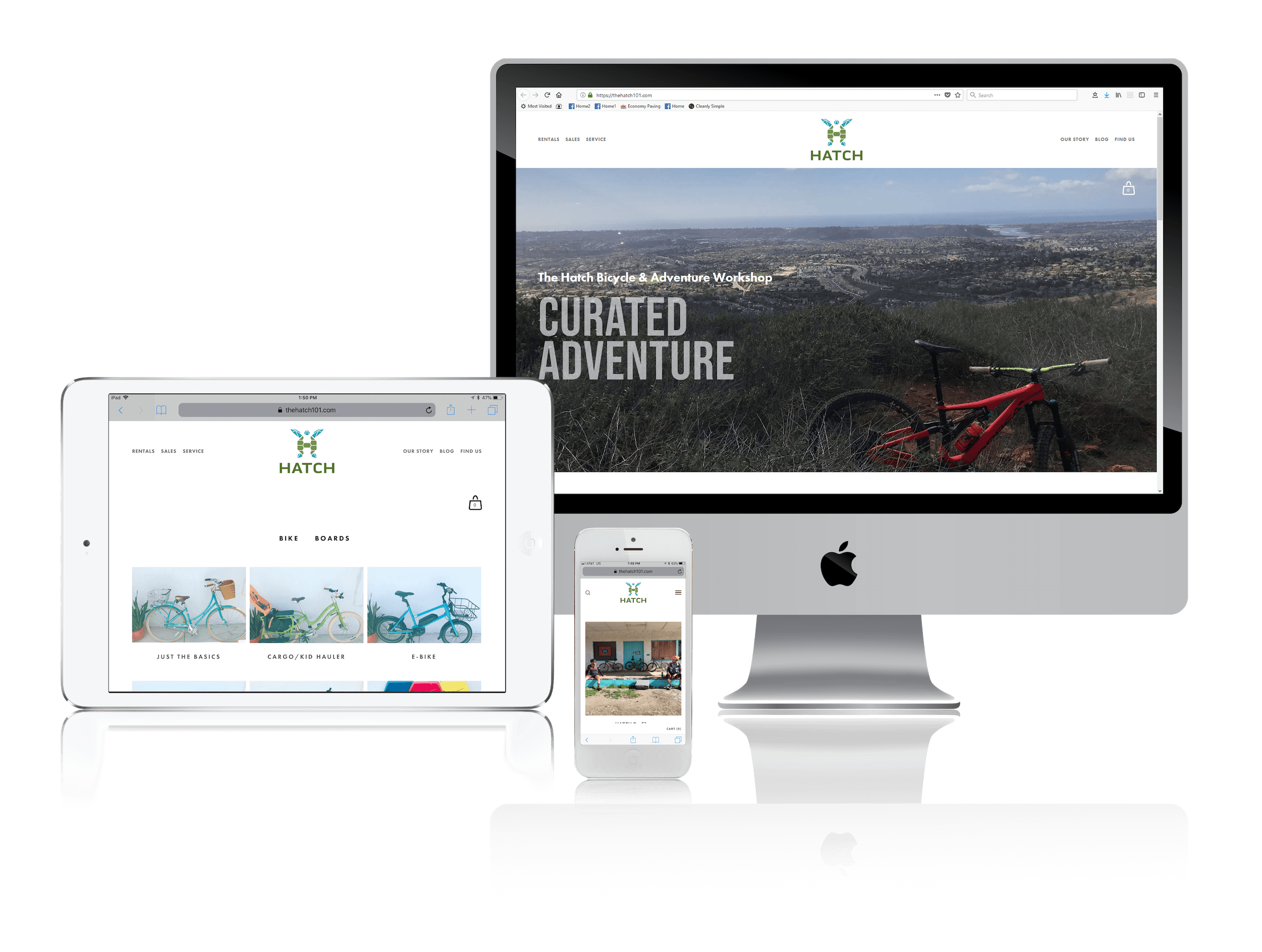 Squarespace for Bicycle Adventures