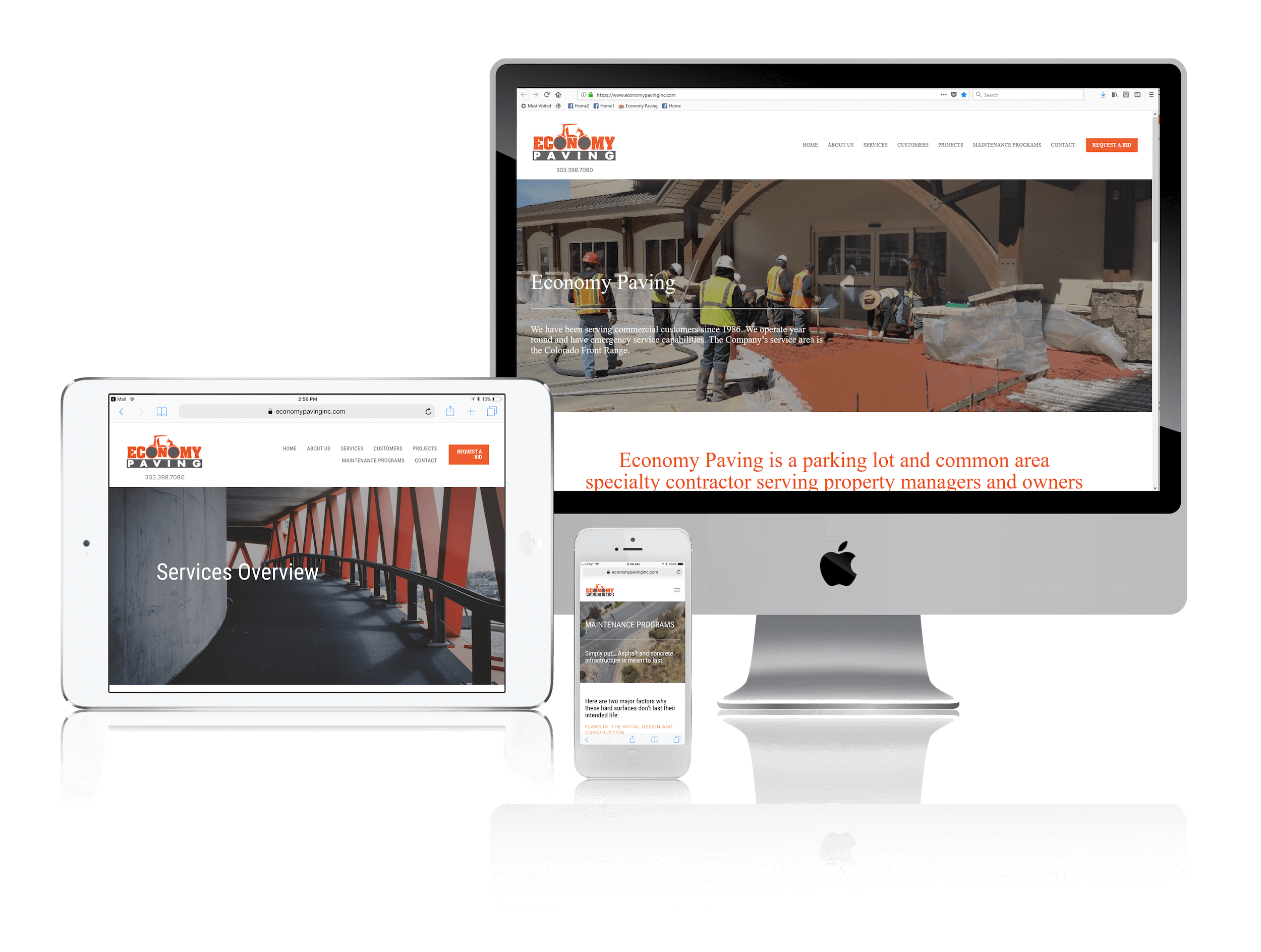 Squarespace for Paving Contractors