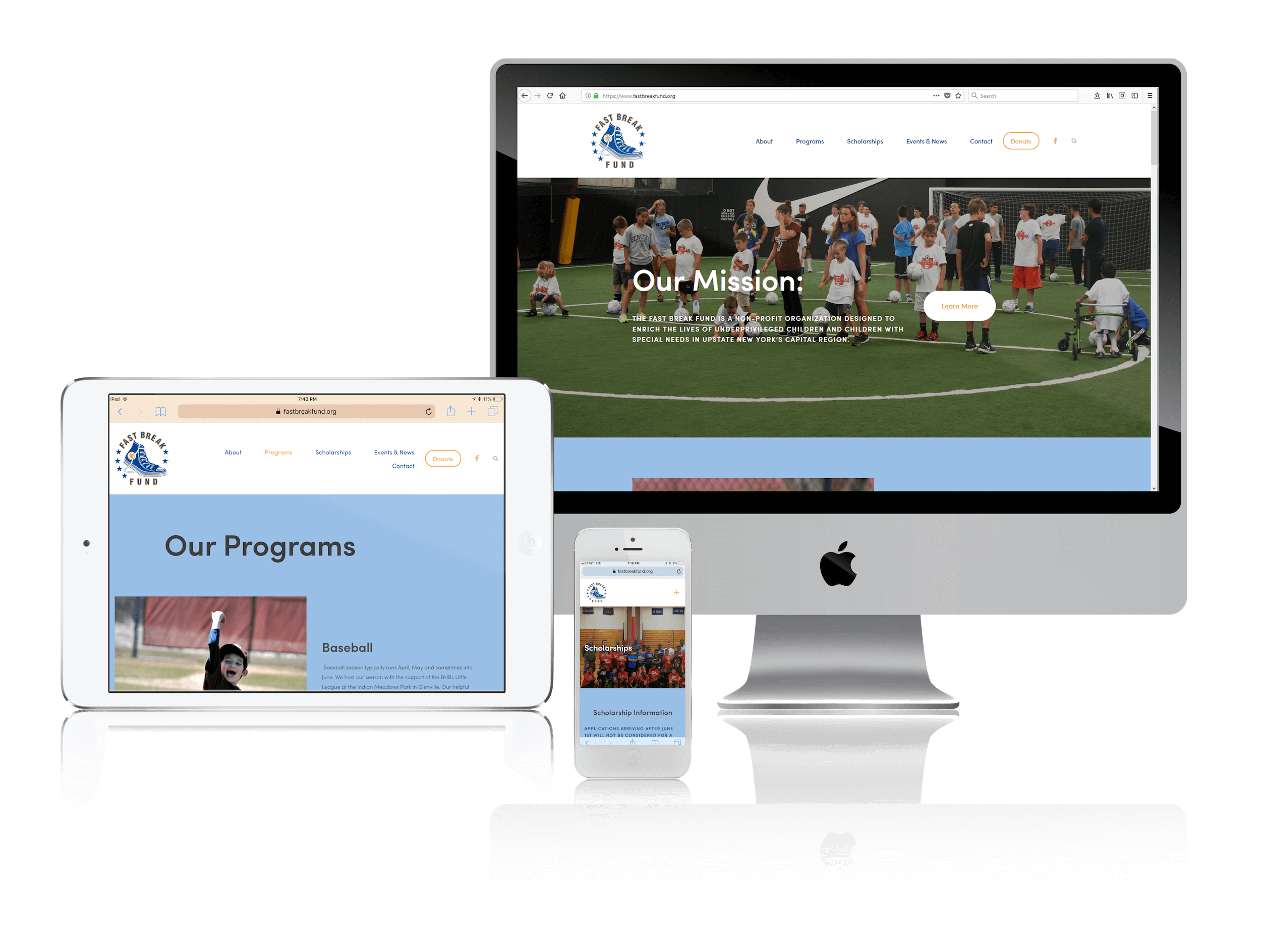 Squarespace for Nonprofits Helping Kids