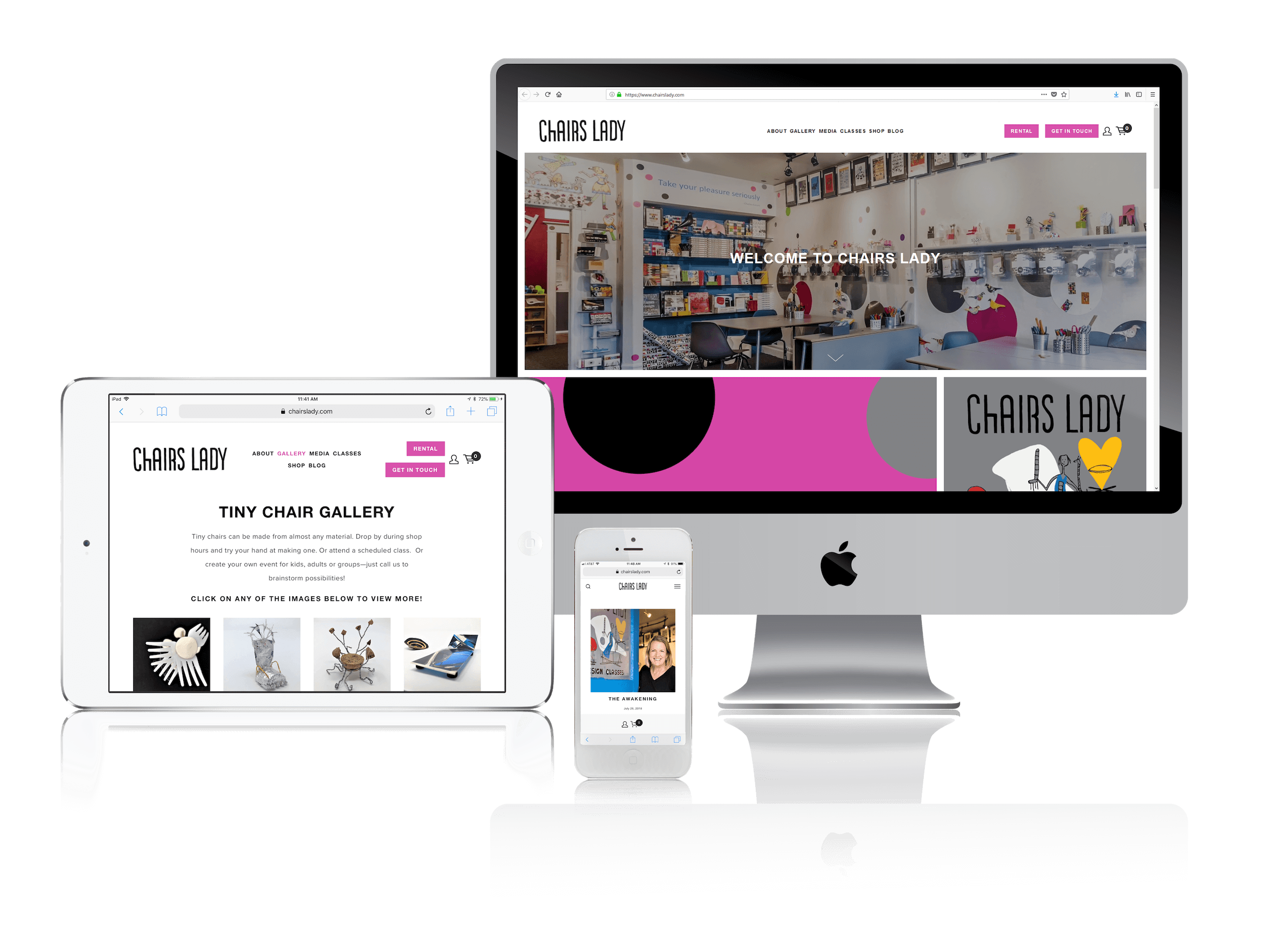 Squarespace for Design and Craft Workspaces
