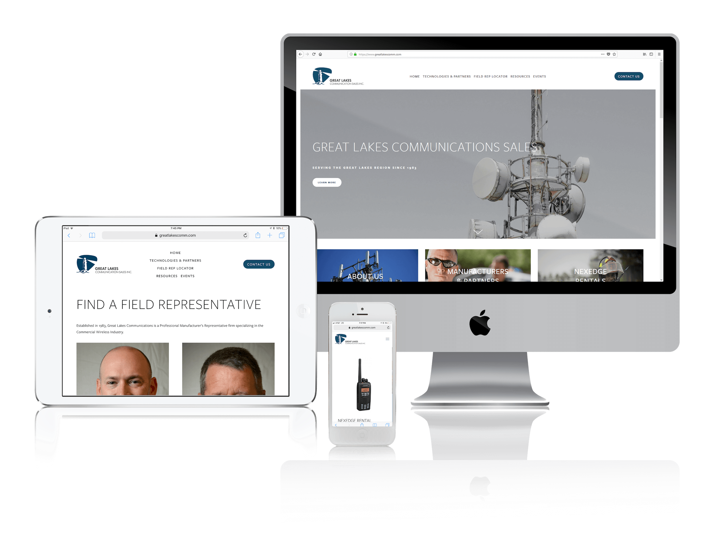 Squarespace for Wireless Communications