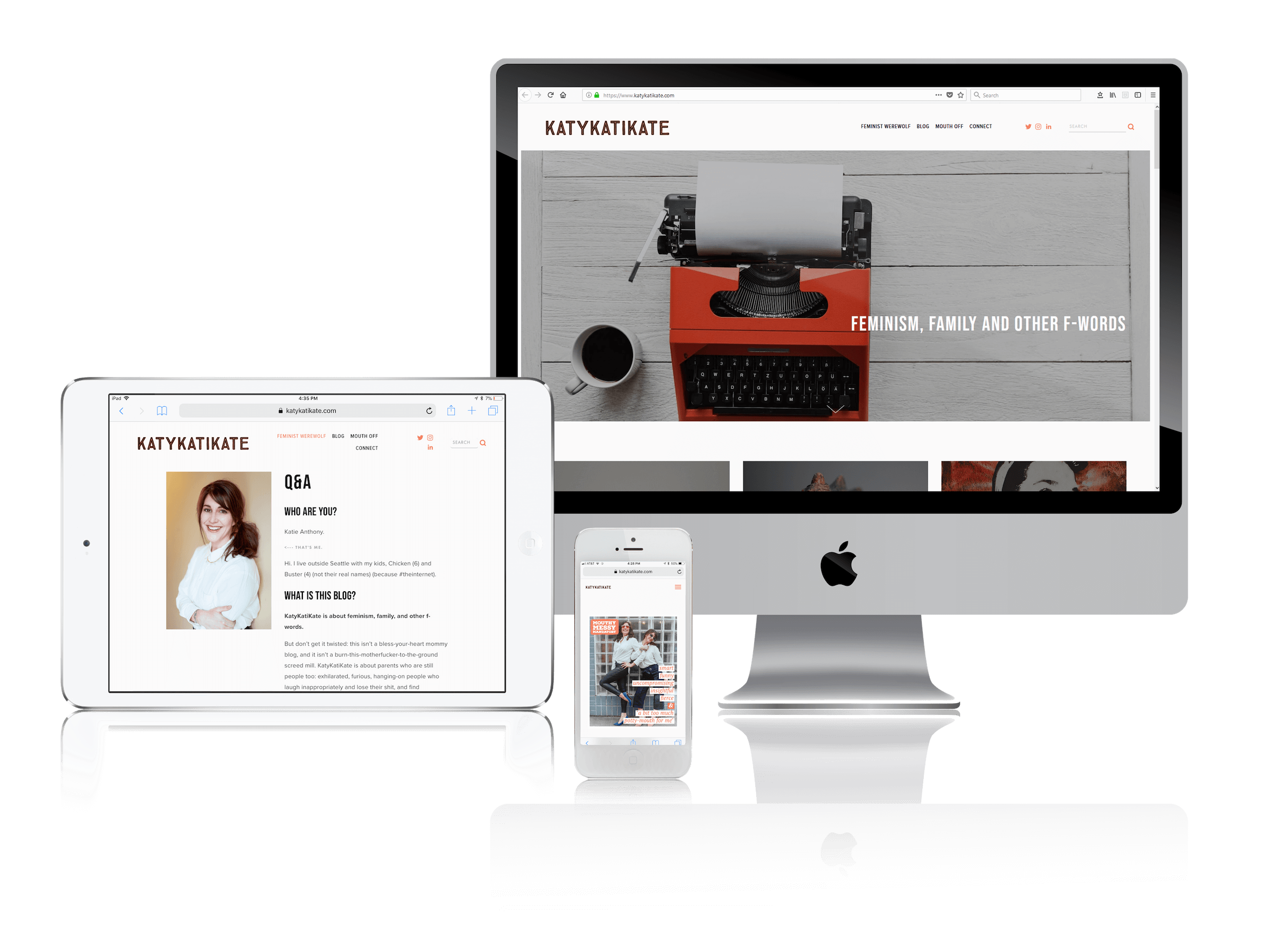 Squarespace for Fierce Feminist Bloggers