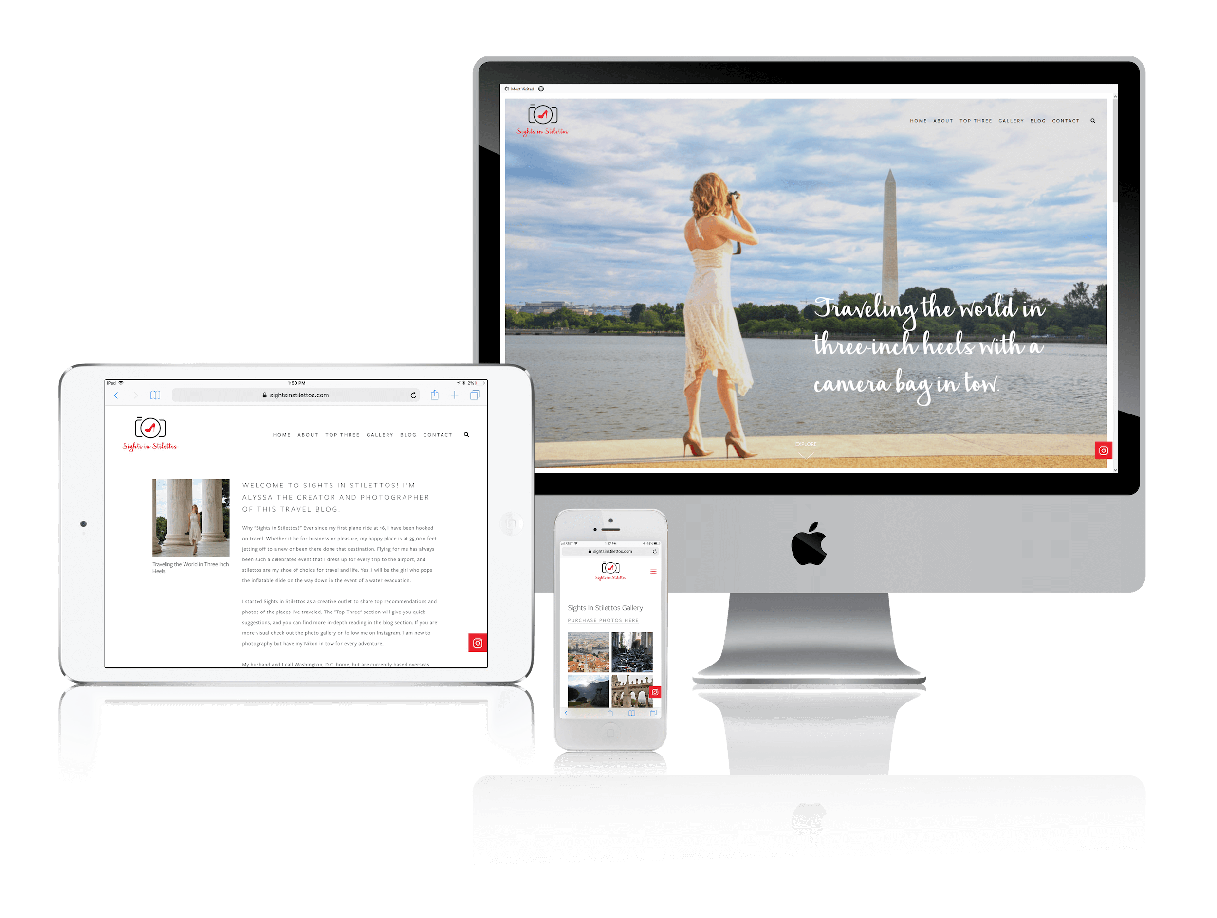 Squarespace for Travel Bloggers