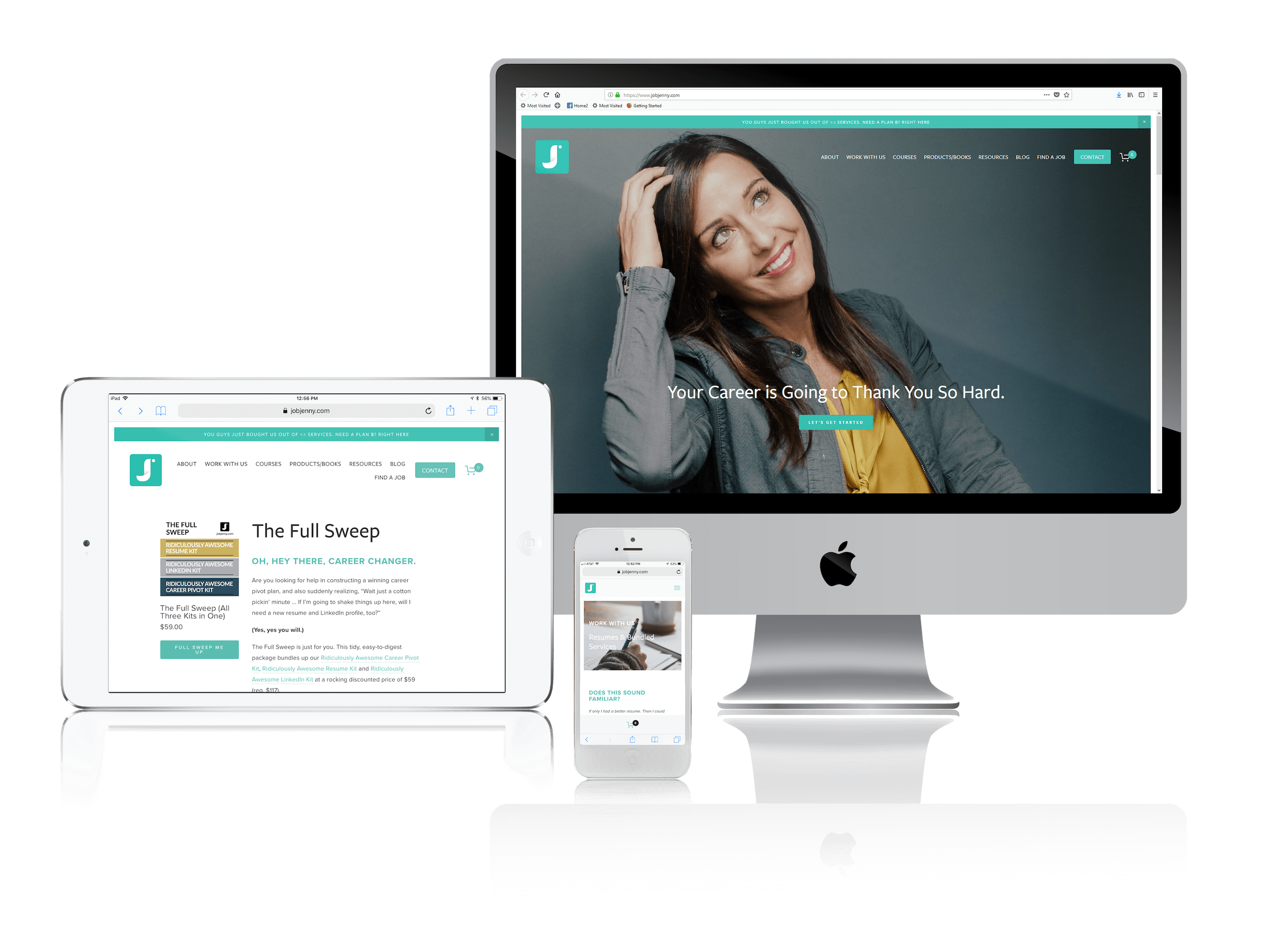 Squarespace for Career Coaching Websites