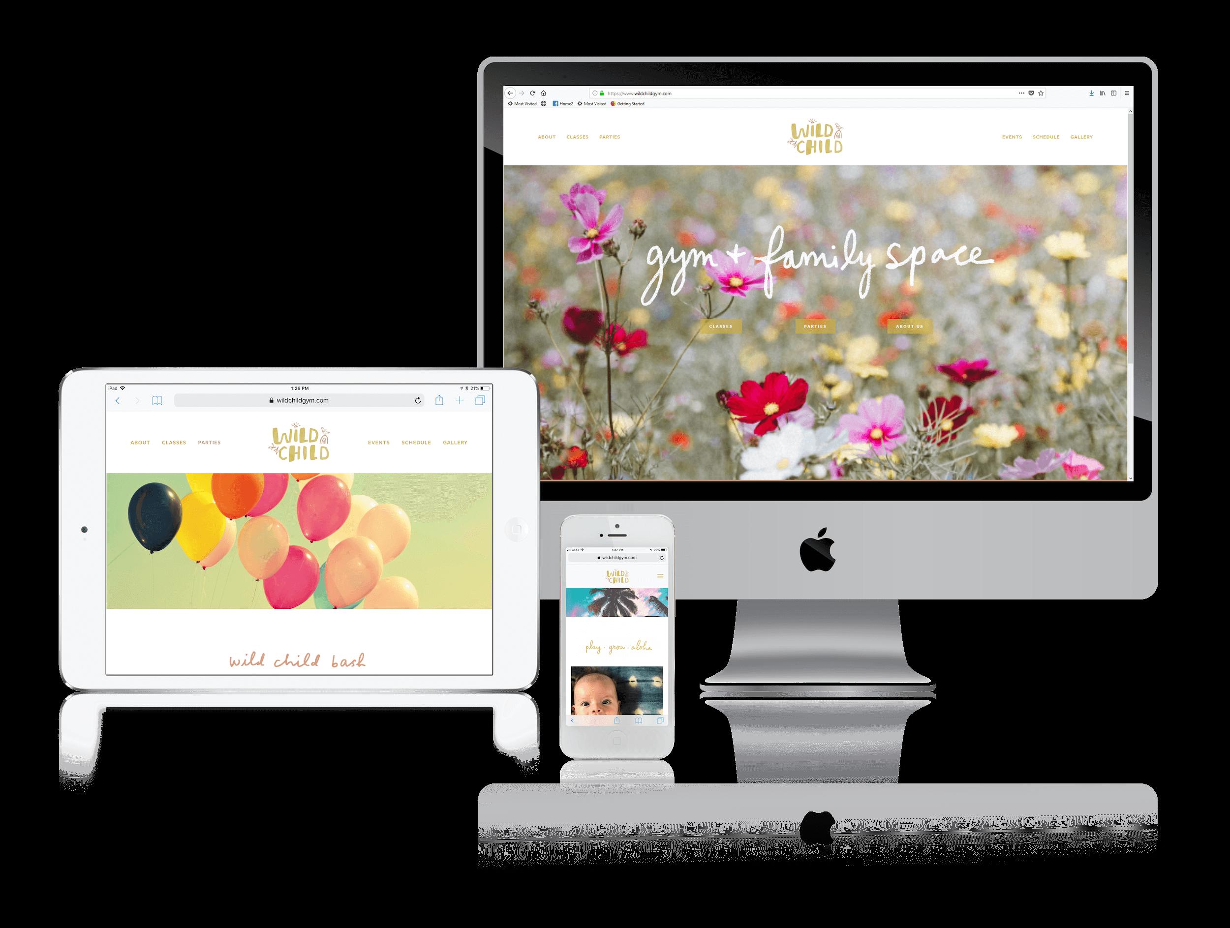 Squarespace for Children's Event Websites