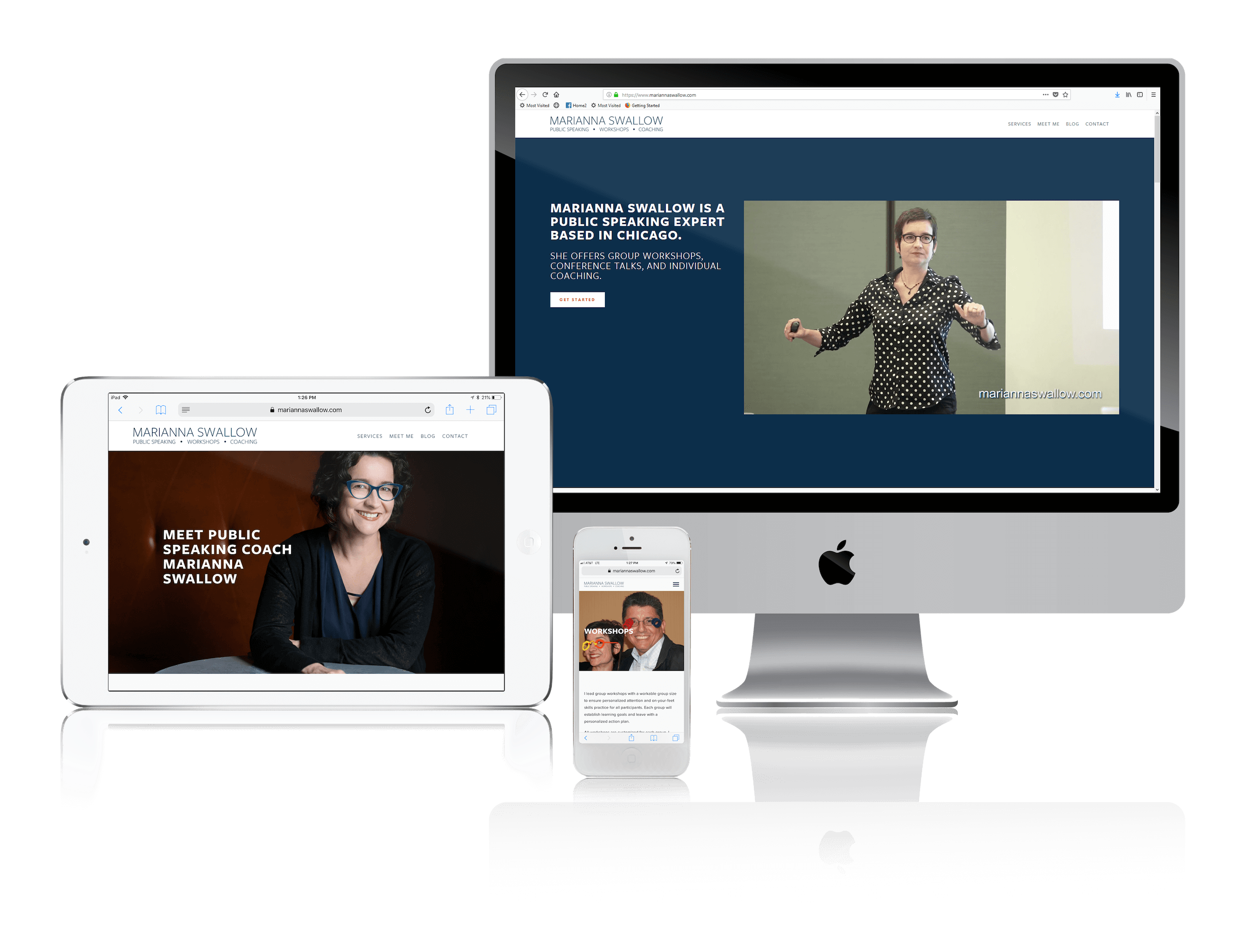 Squarespace for Public Speaking Coaches' Websites