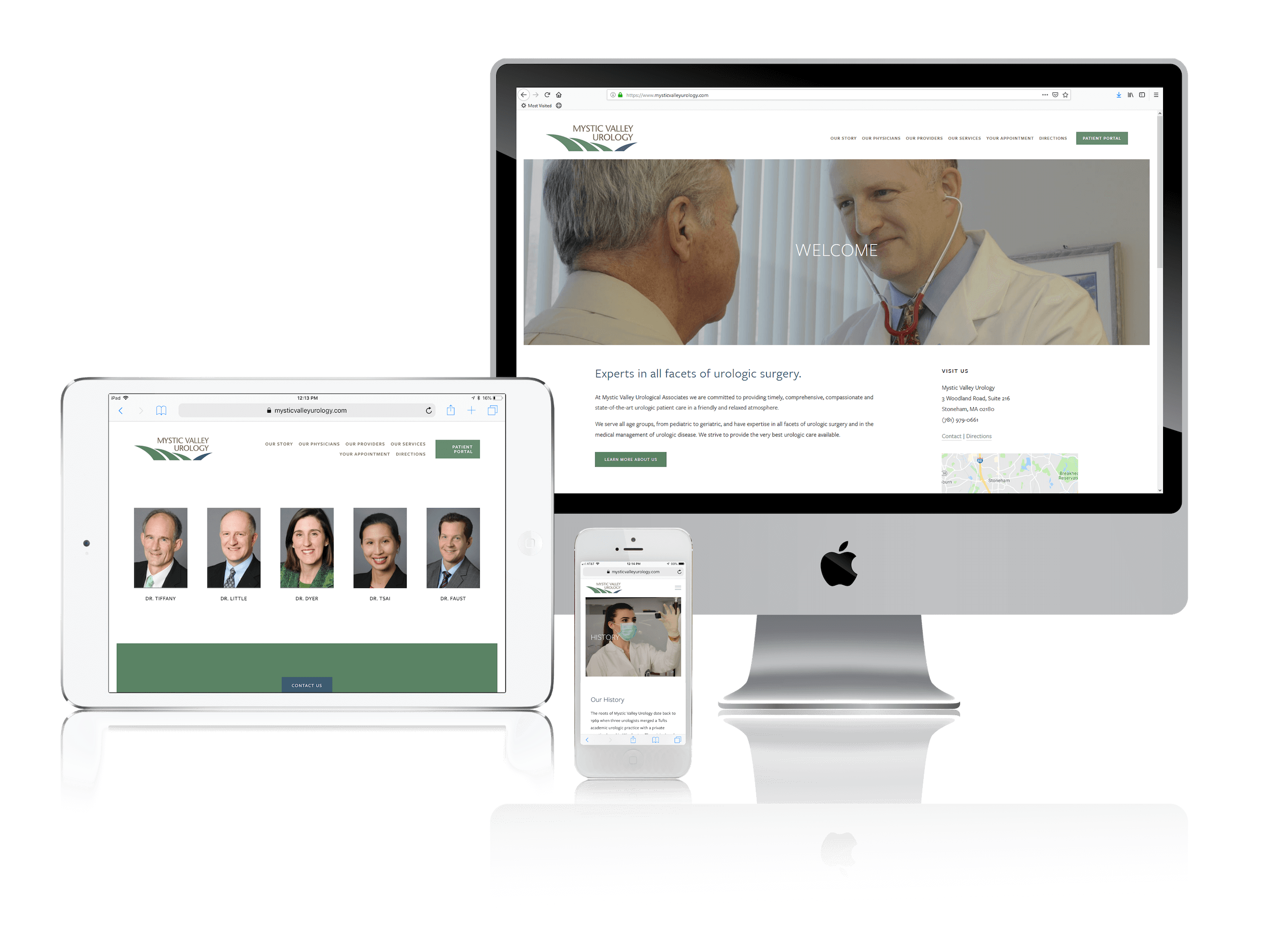 Squarespace for Doctor Websites
