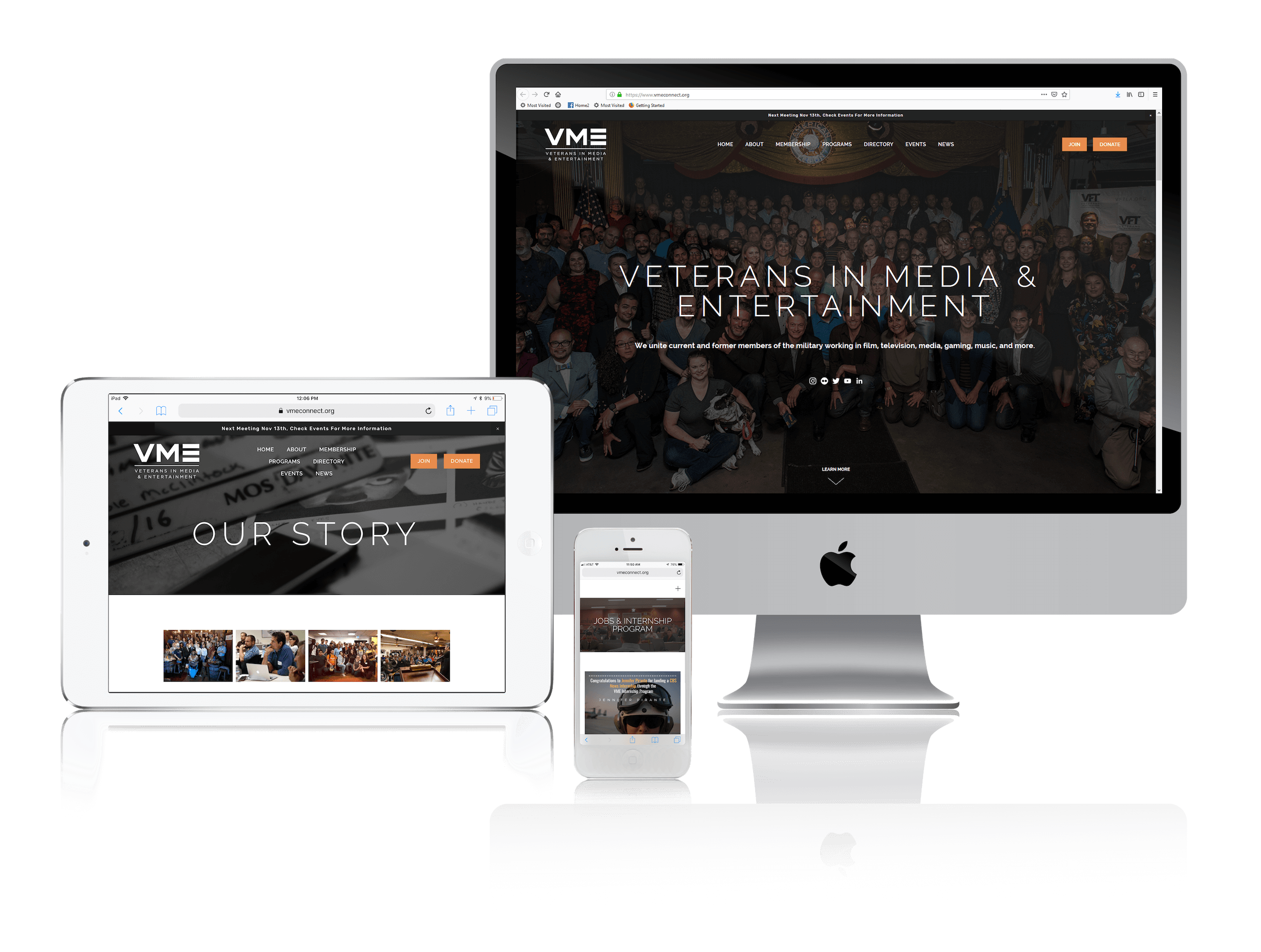 Squarespace for Nonprofit Websites Helping Veterans