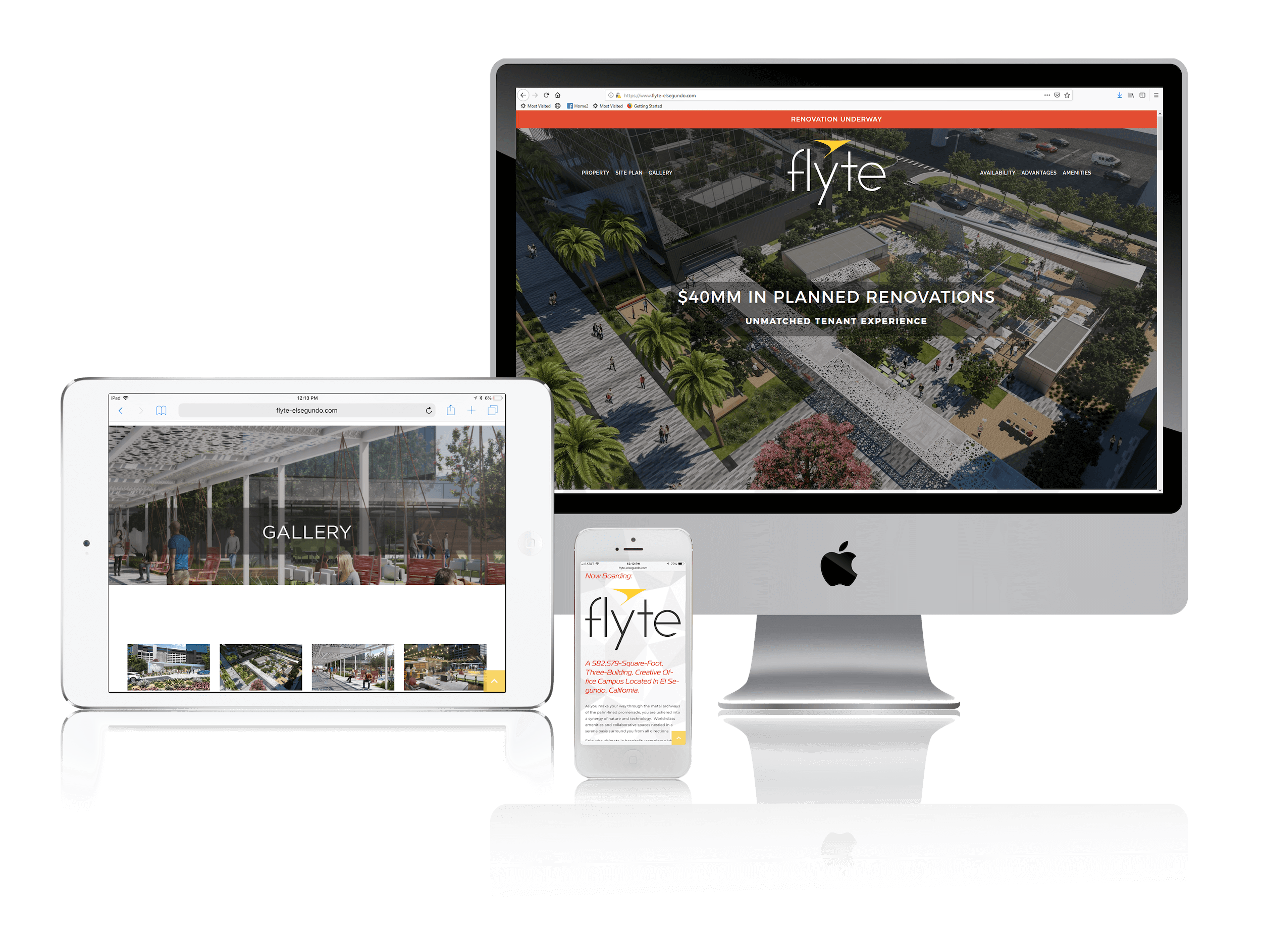 Squarespace for Leasing Office Space