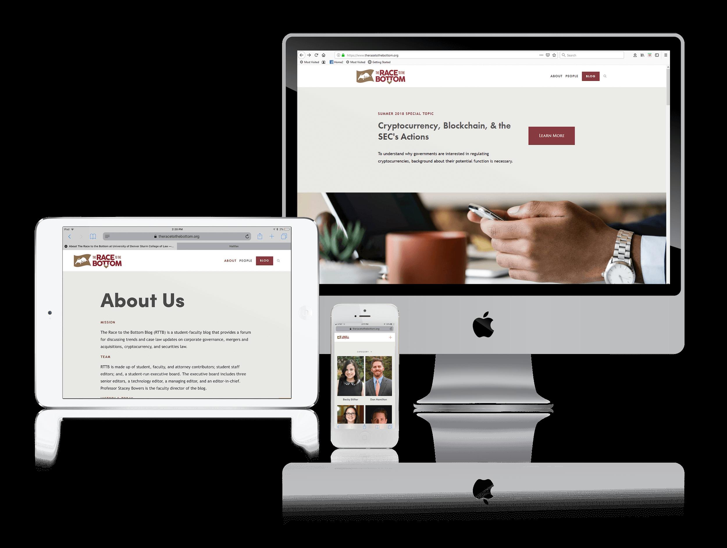 Squarespace for Law Blog Websites