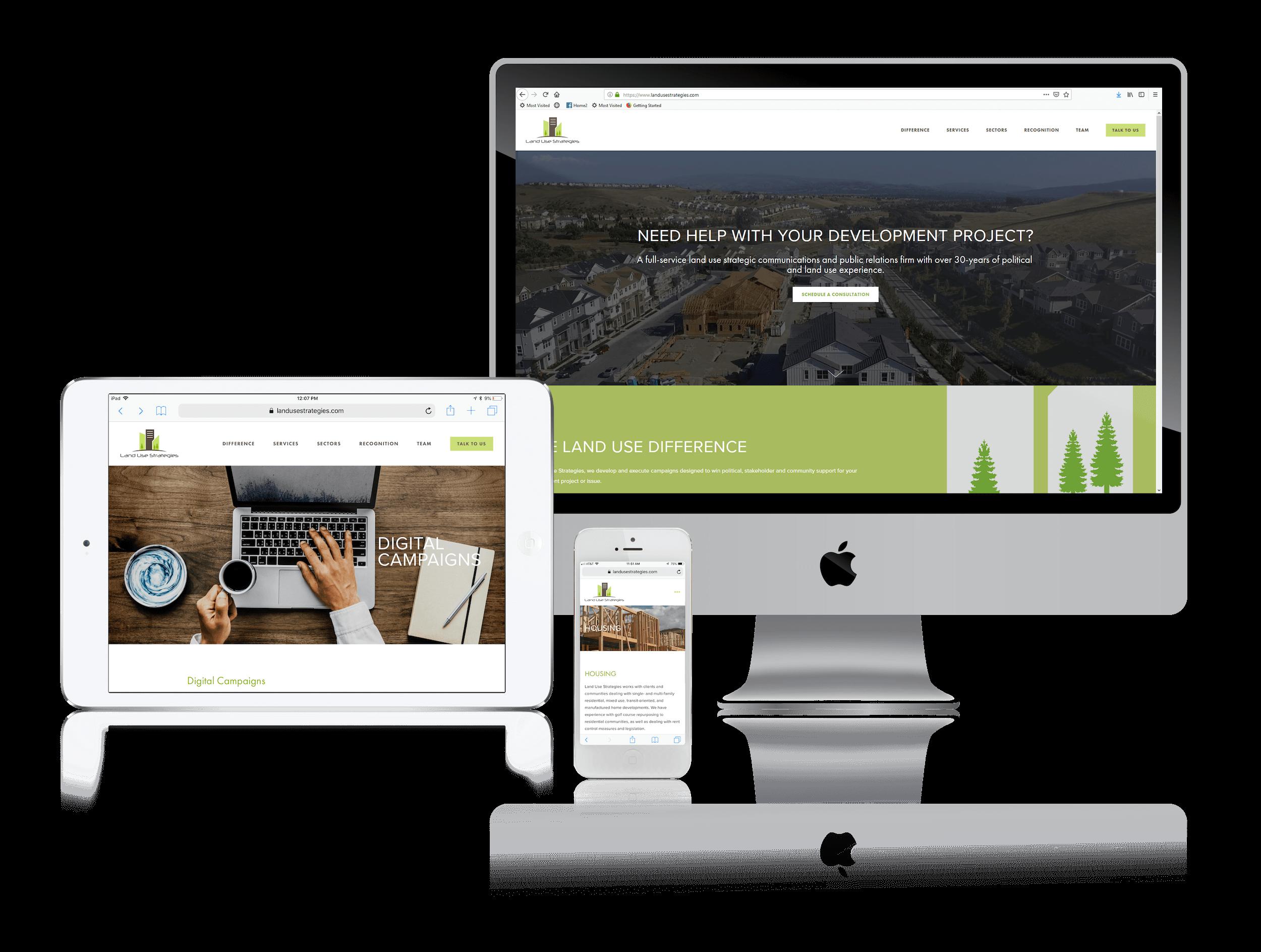 Squarespace for Development Project Websites