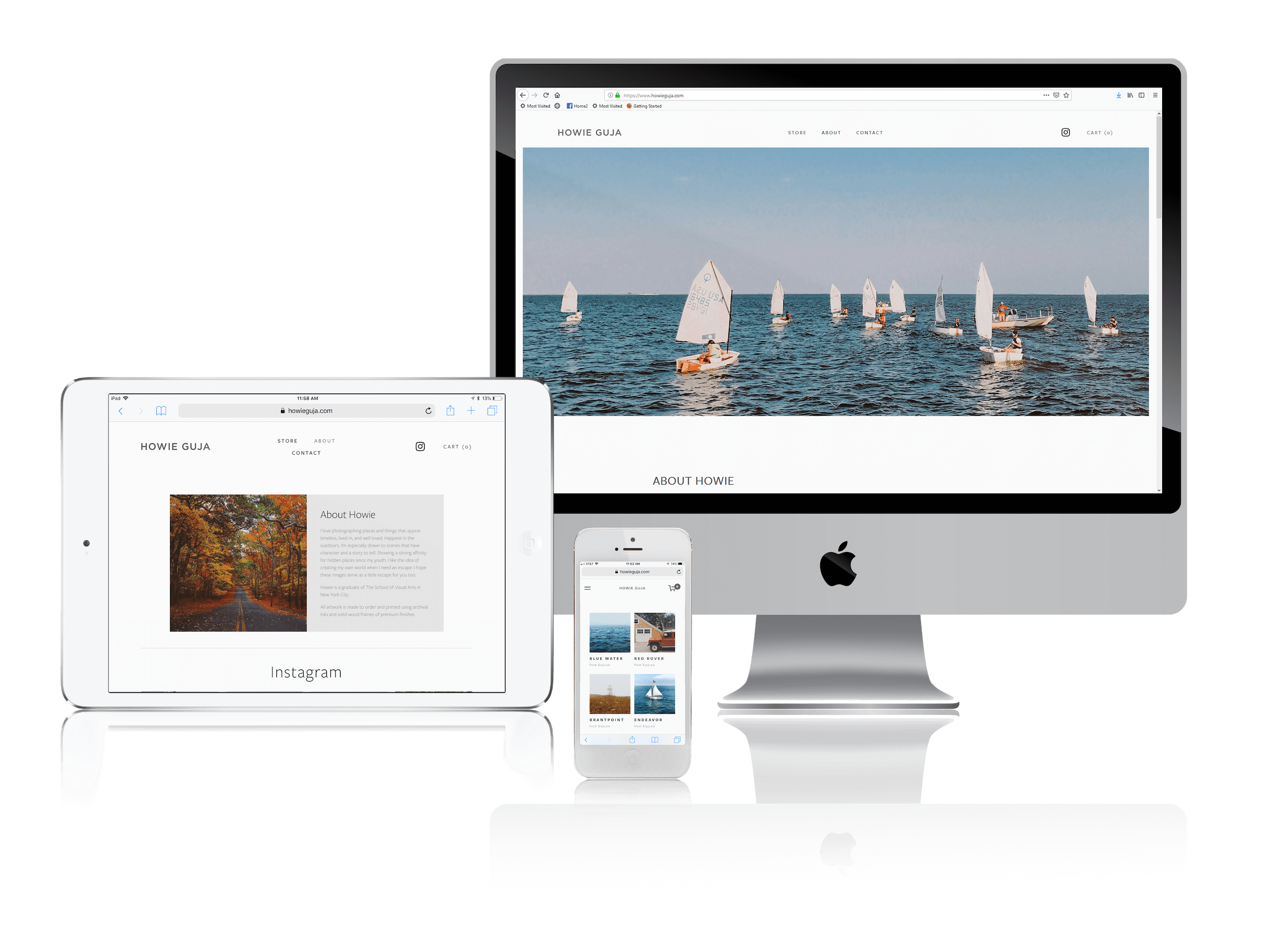Squarespace for Websites to Sell Photography