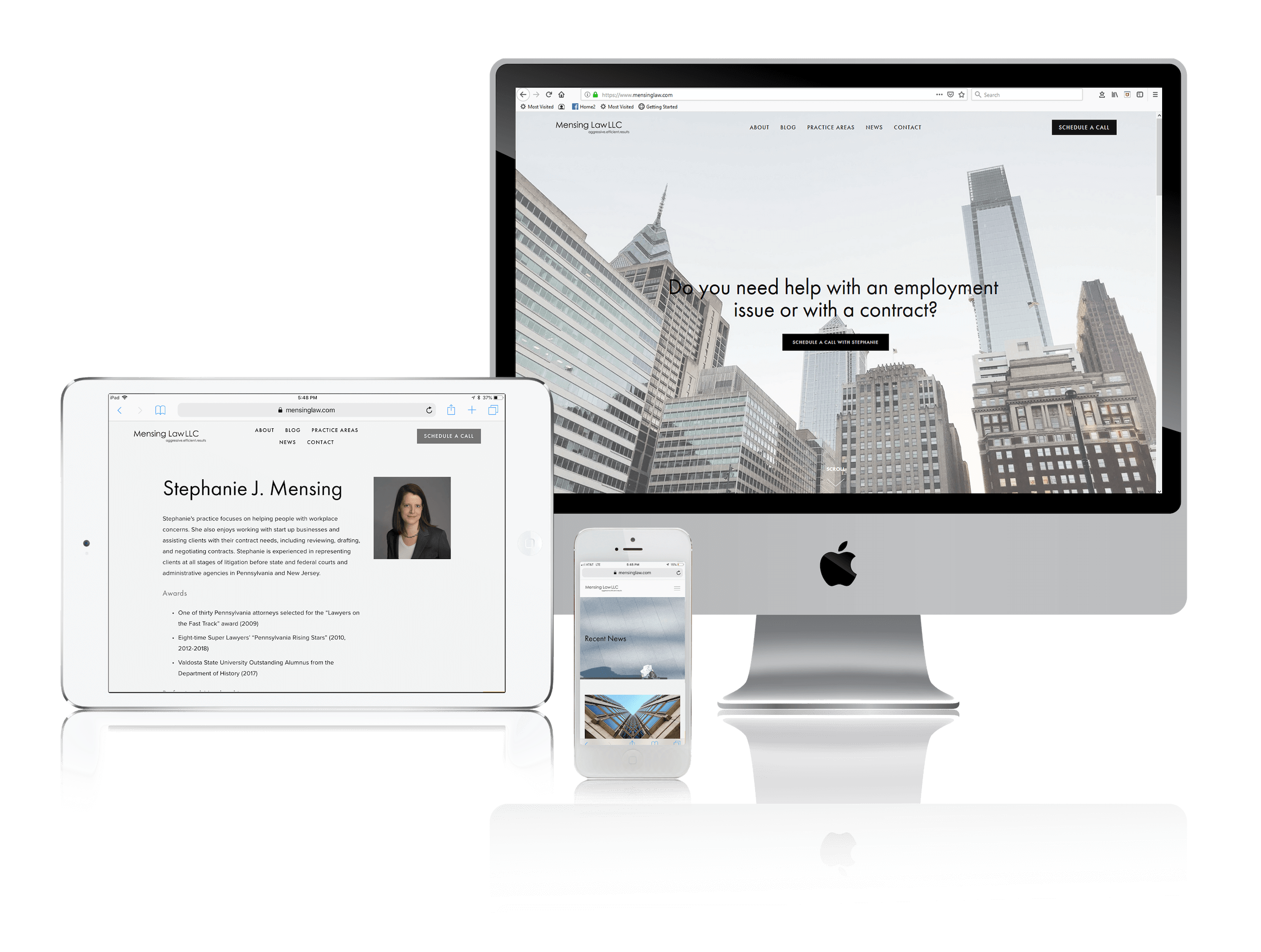 Squarespace for Lawyer Websites