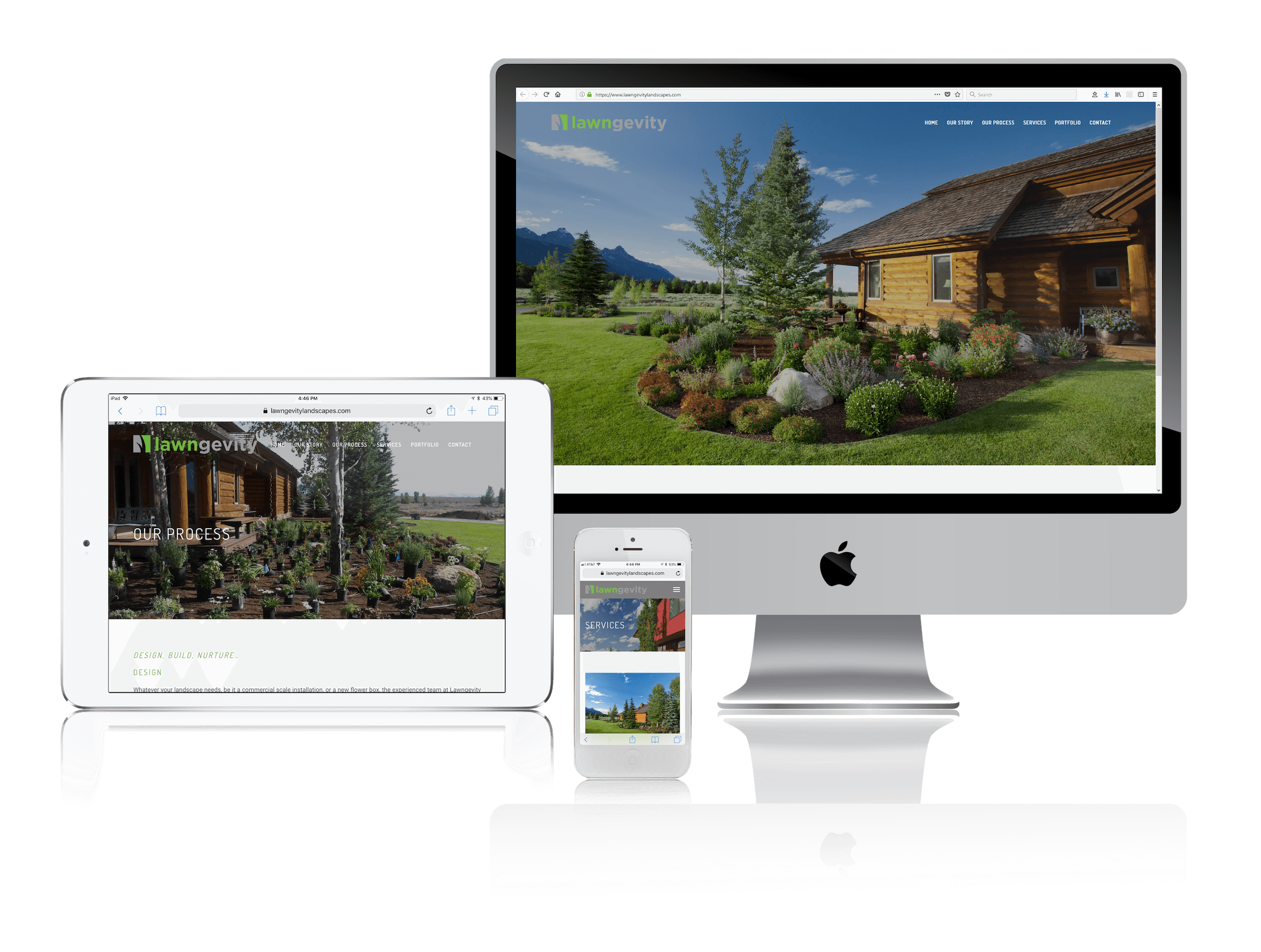 Squarespace for Professional Landscape Websites